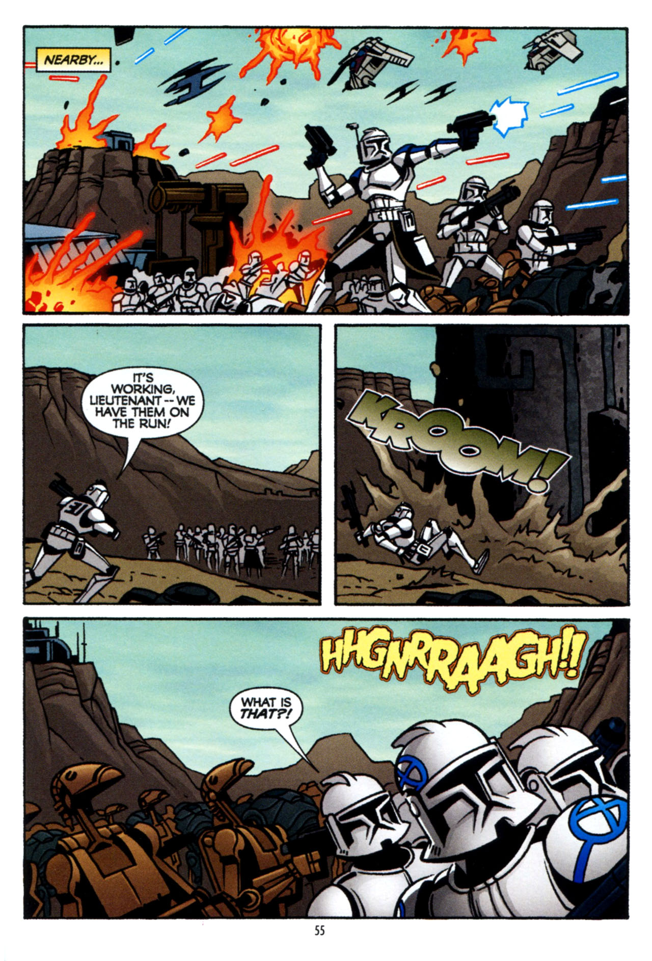 Read online Star Wars: The Clone Wars - The Colossus of Destiny comic -  Issue # Full - 55