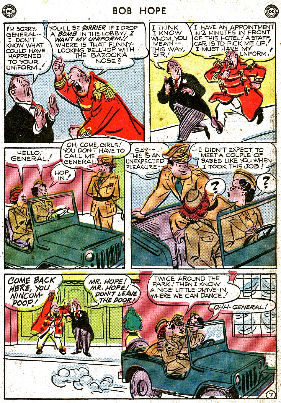 The Adventures of Bob Hope issue 8 - Page 9
