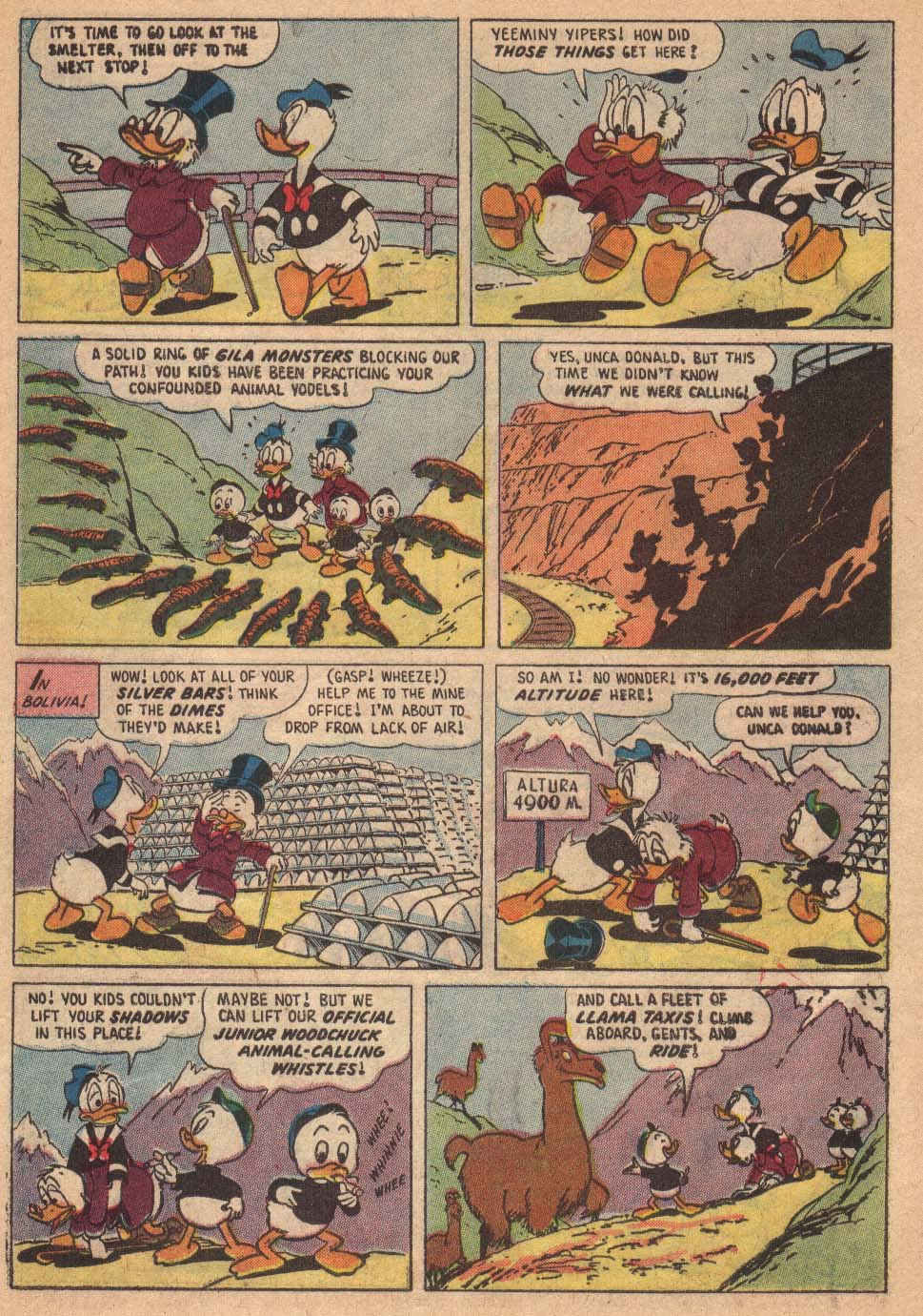 Read online Uncle Scrooge (1953) comic -  Issue #19 - 6