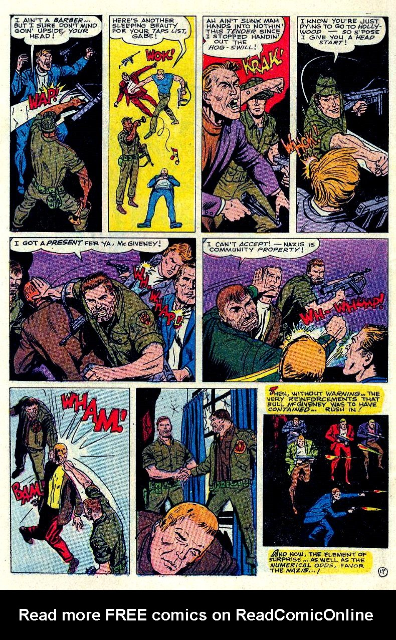 Read online Sgt. Fury comic -  Issue #84 - 24