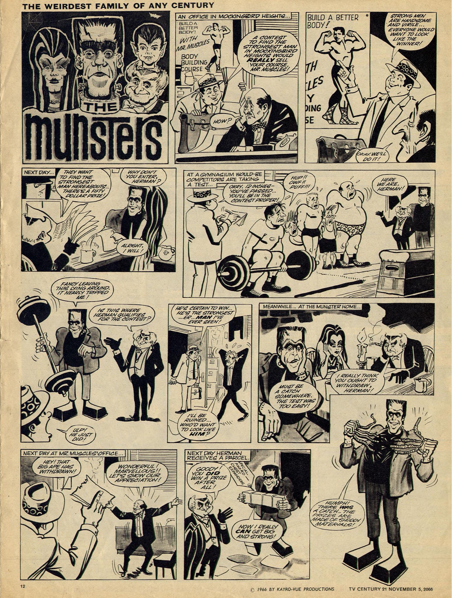 Read online TV Century 21 (TV 21) comic -  Issue #94 - 11
