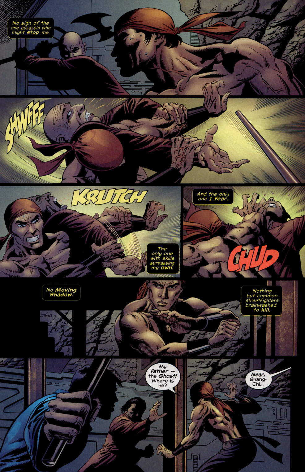 Read online Shang-Chi: Master of Kung Fu comic -  Issue #5 - 17