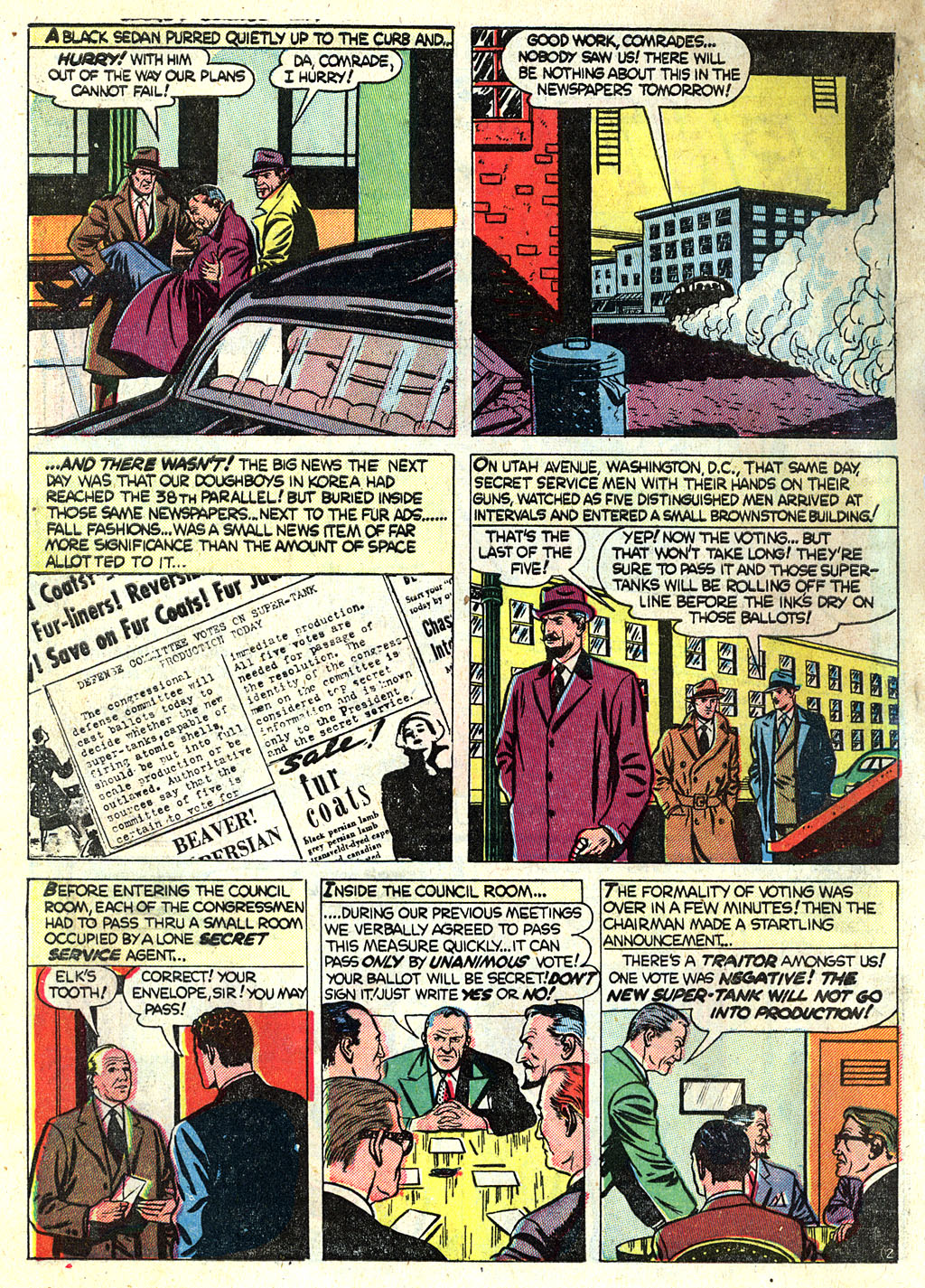 Kent Blake of the Secret Service issue 1 - Page 4