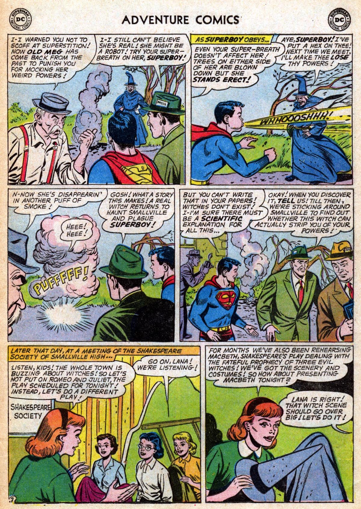 Read online Adventure Comics (1938) comic -  Issue #286 - 9