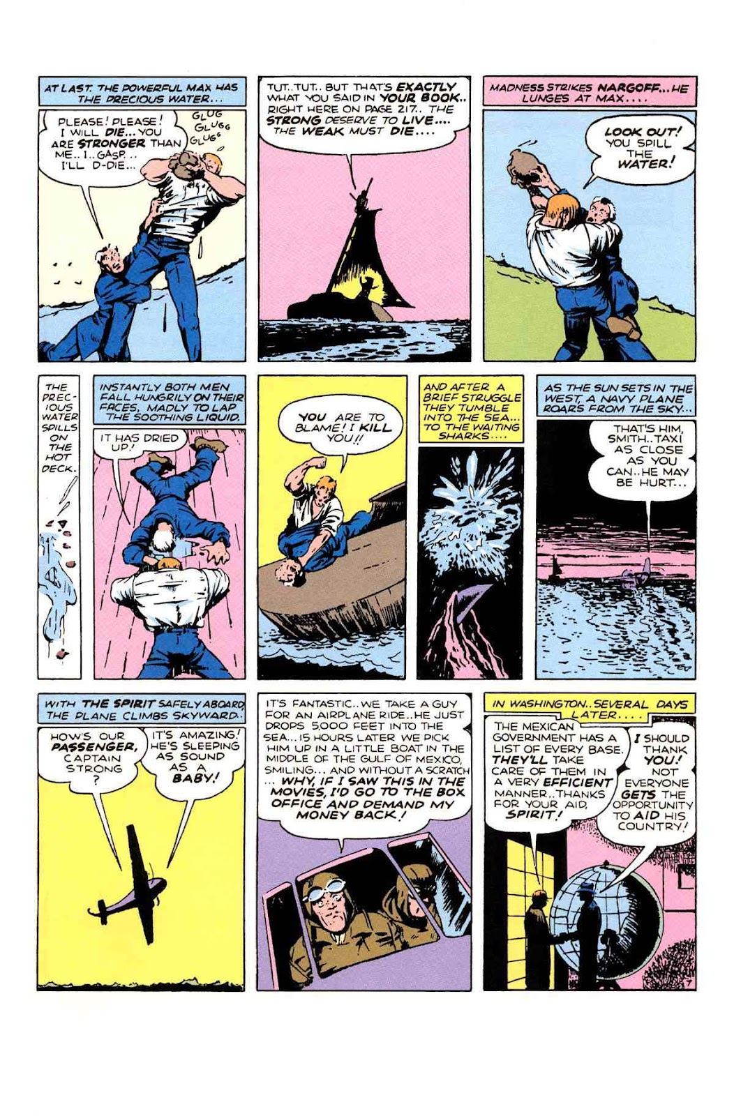 Read online Will Eisner's The Spirit Archives comic -  Issue # TPB 1 (Part 3) - 18