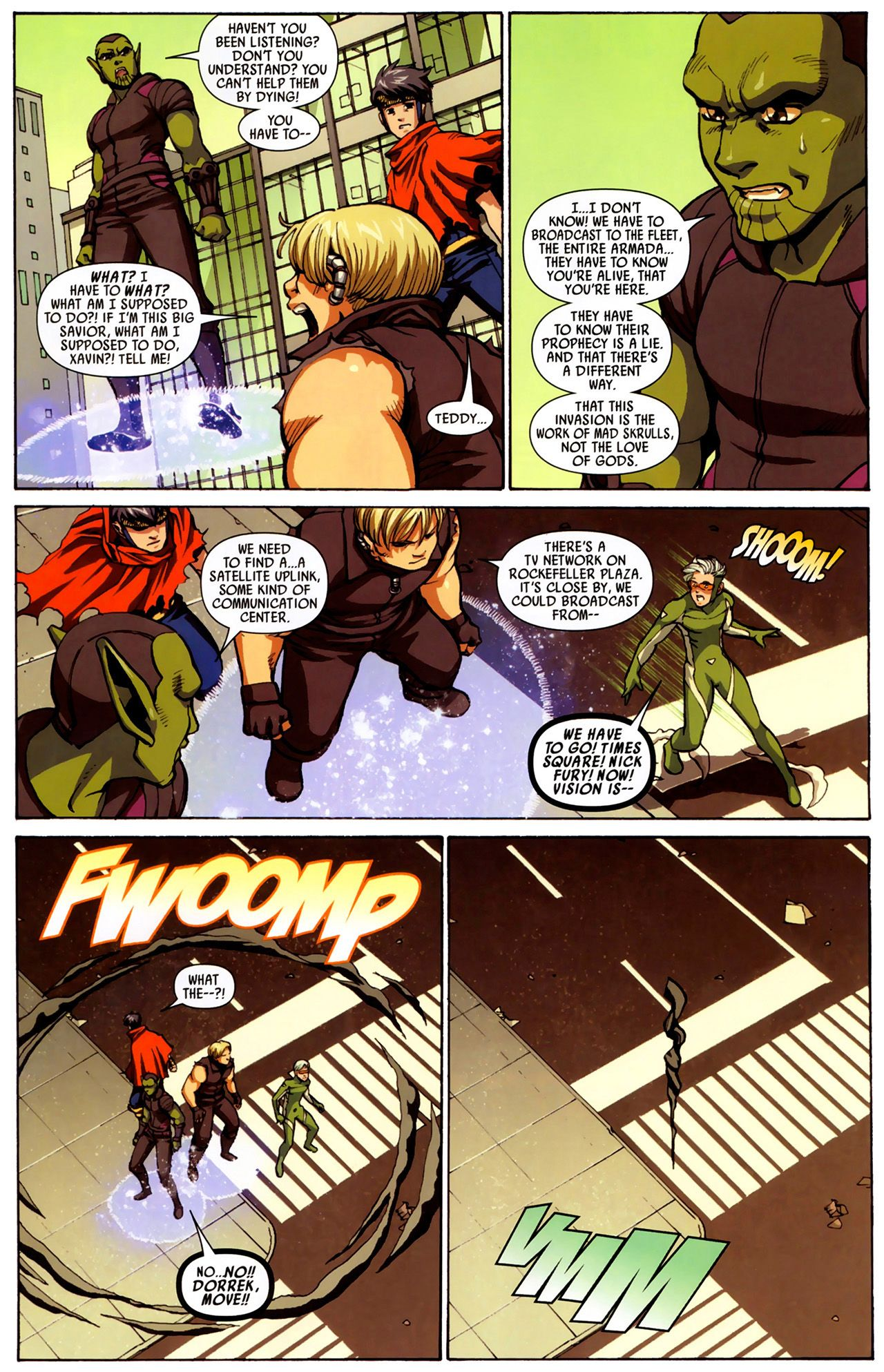 Read online Secret Invasion: Runaways/Young Avengers comic -  Issue #3 - 7