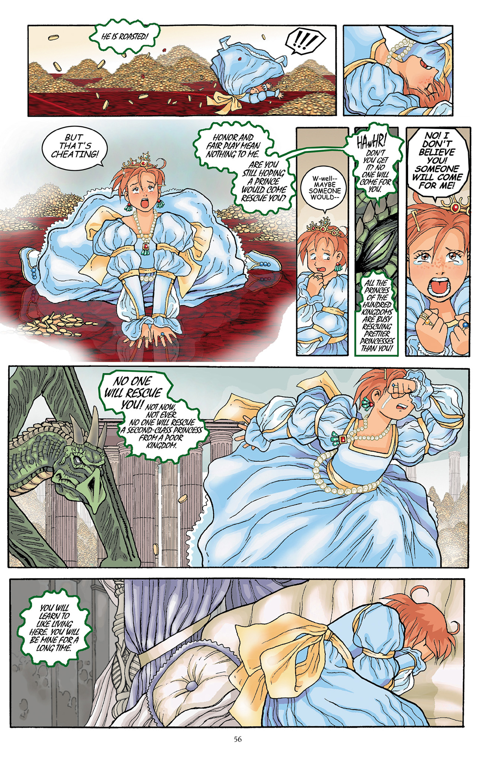 Read online Courageous Princess comic -  Issue # TPB 1 - 57
