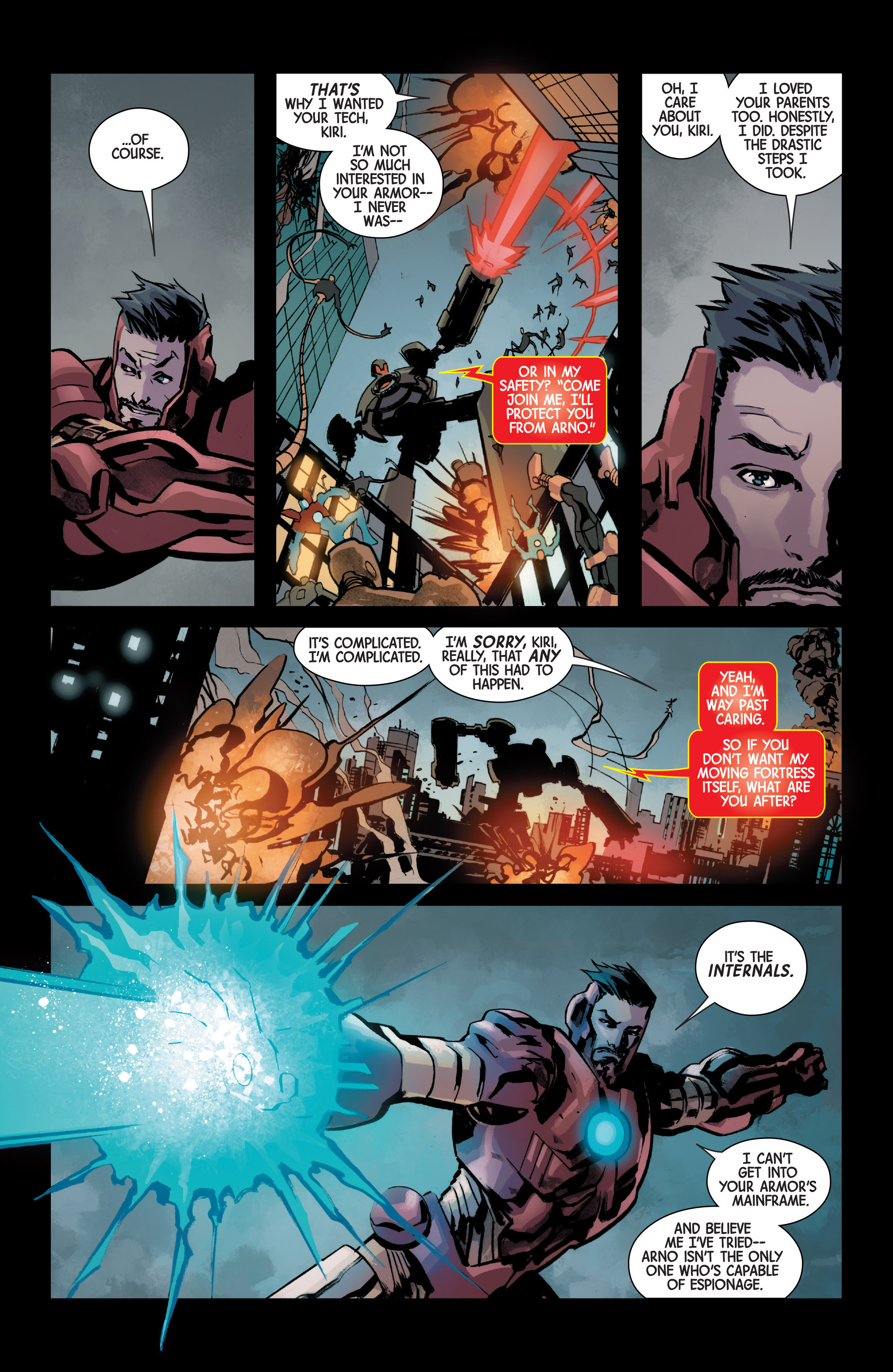 Read online Armor Wars comic -  Issue #5 - 14