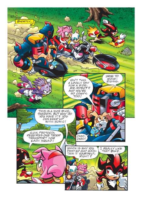 Read online Sonic Comics Spectacular: Speed of Sound comic -  Issue # Full - 174
