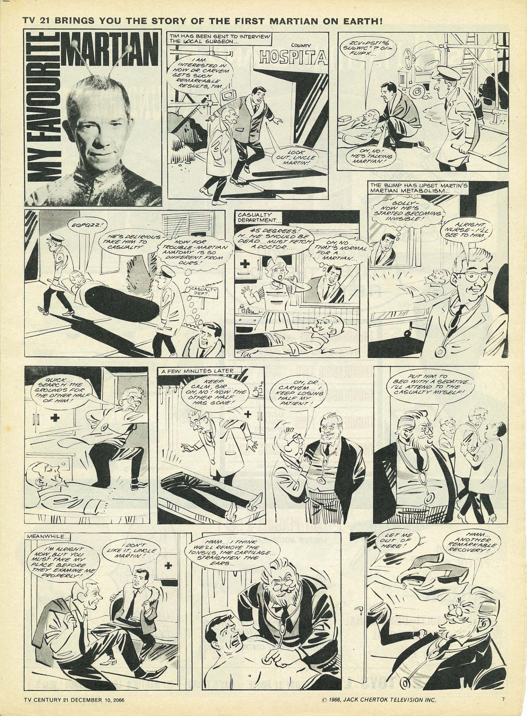 Read online TV Century 21 (TV 21) comic -  Issue #99 - 7