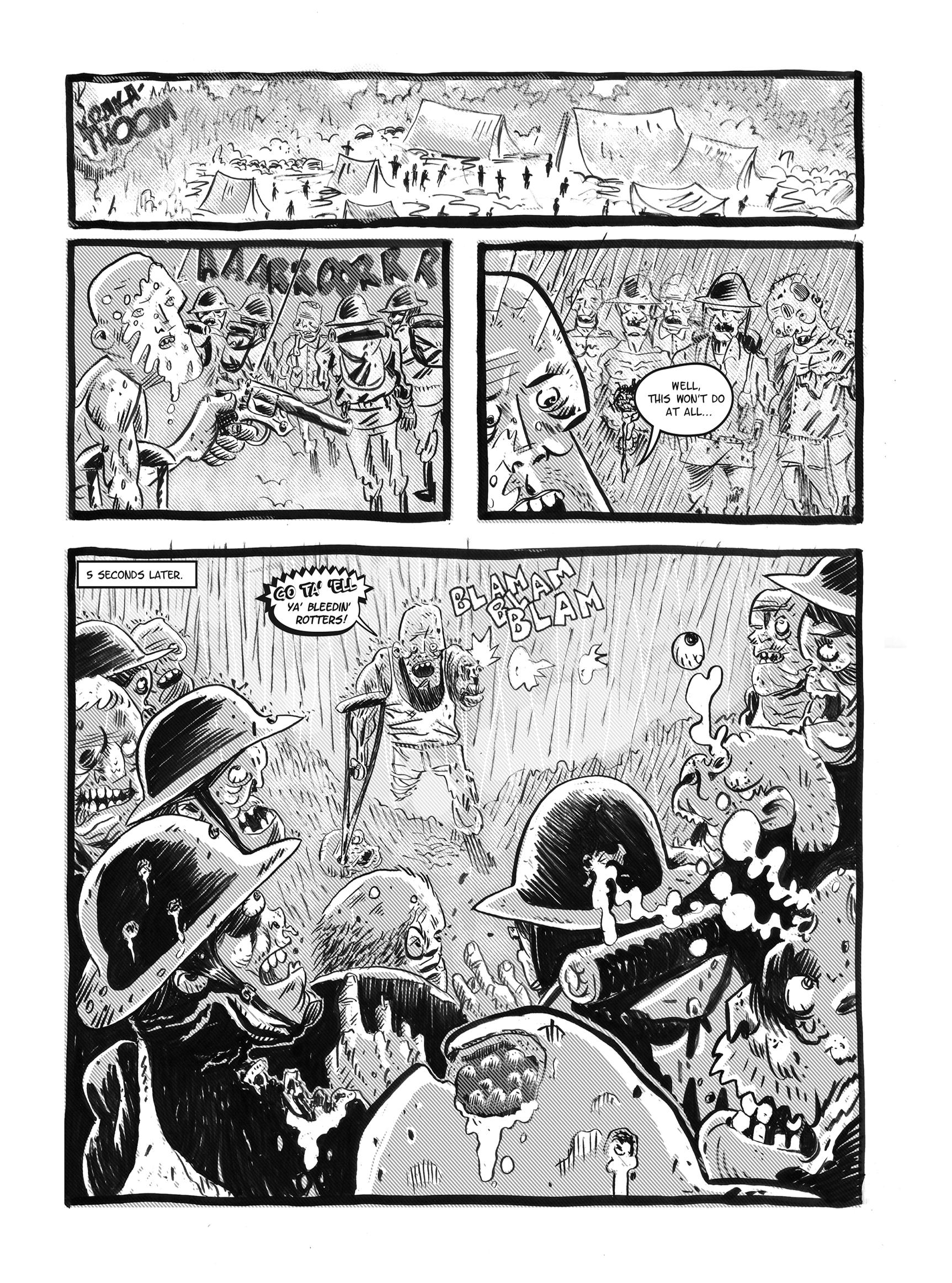 Read online FUBAR comic -  Issue #1 - 69