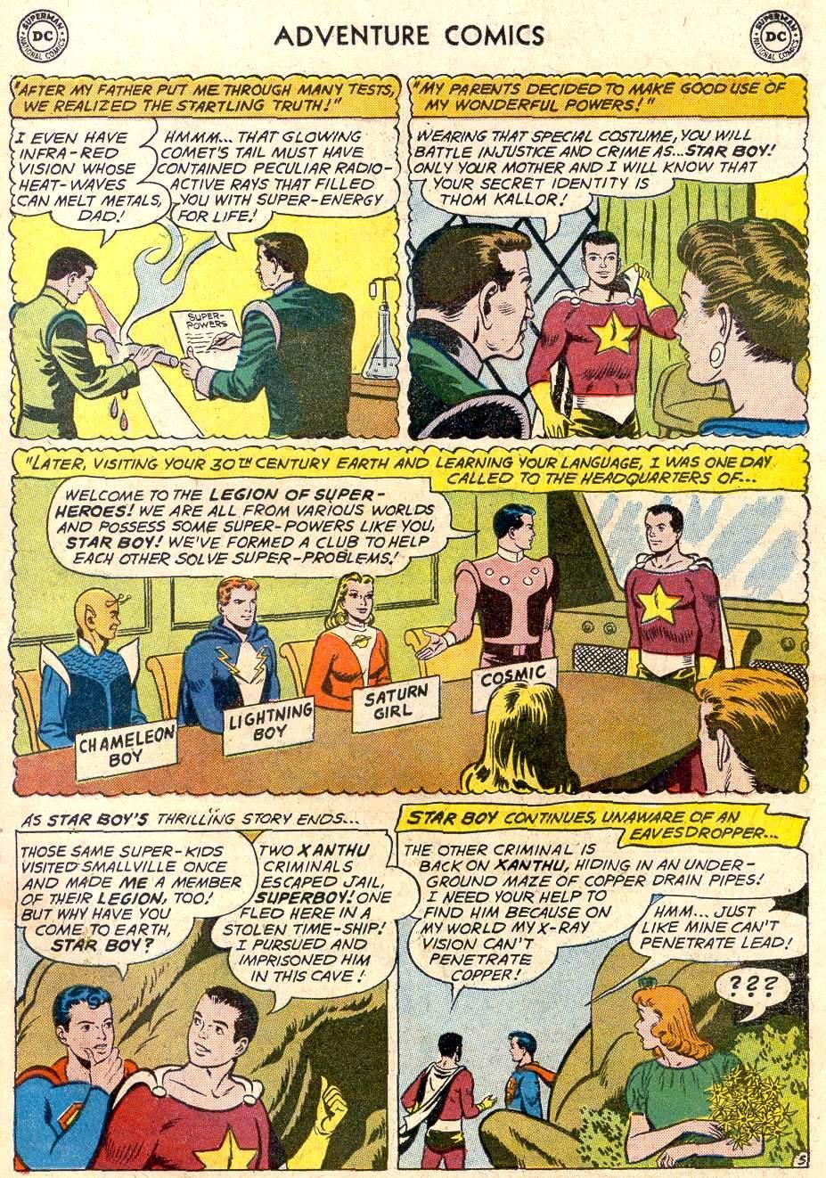 Read online Adventure Comics (1938) comic -  Issue #282 - 7