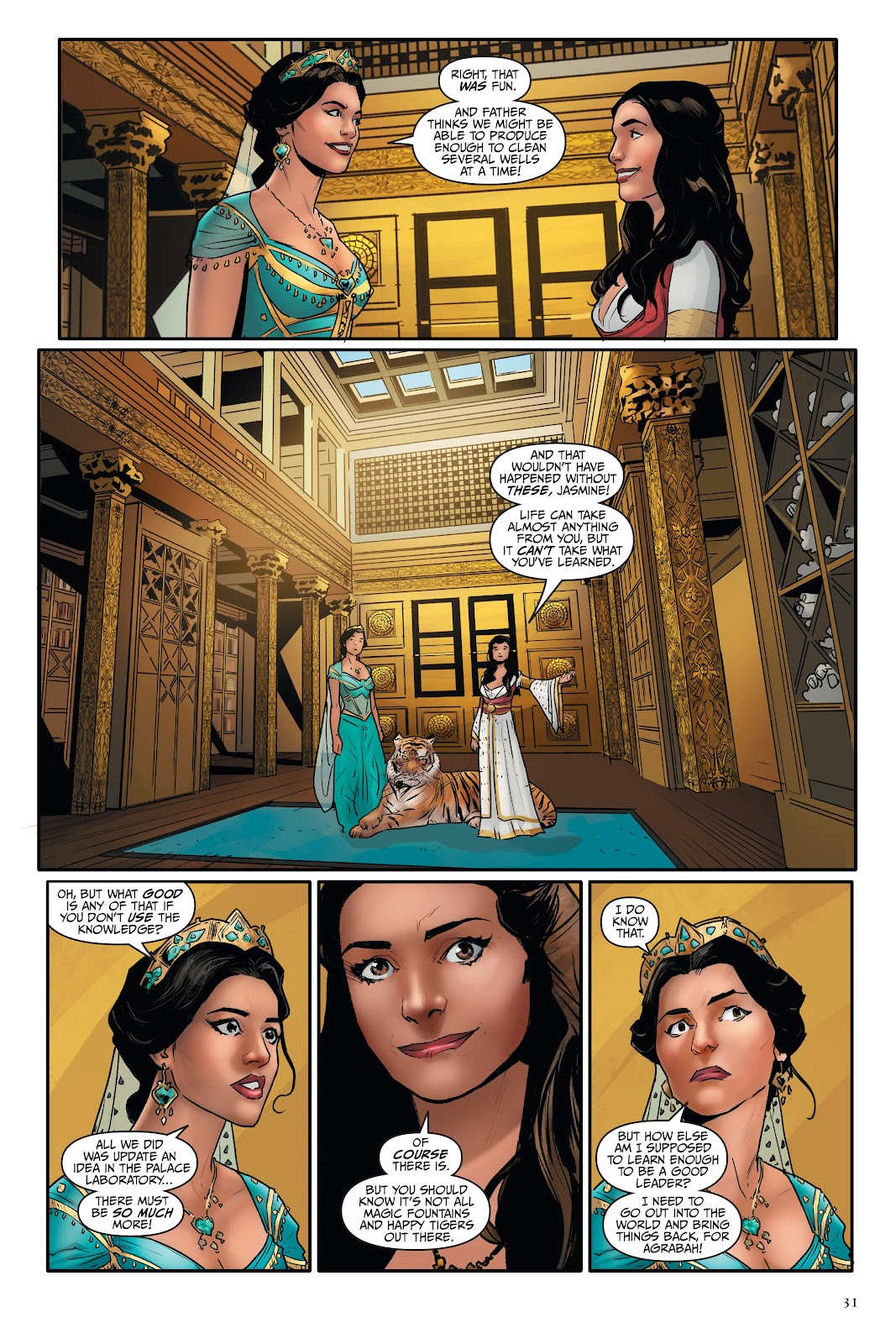 Read online Disney Aladdin: Four Tales of Agrabah comic -  Issue # TPB - 31