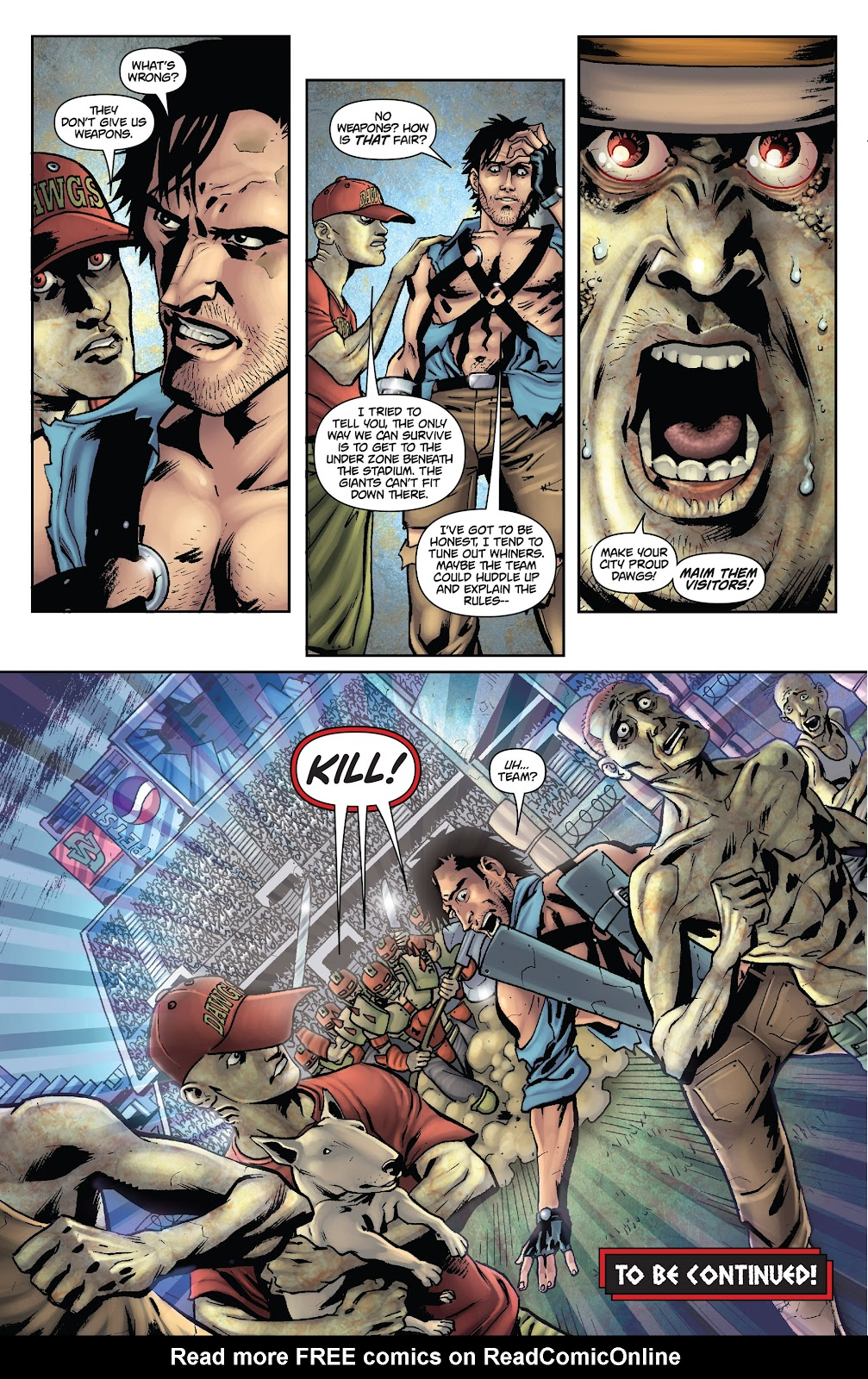 Army of Darkness: The Long Road Home issue TPB - Page 53