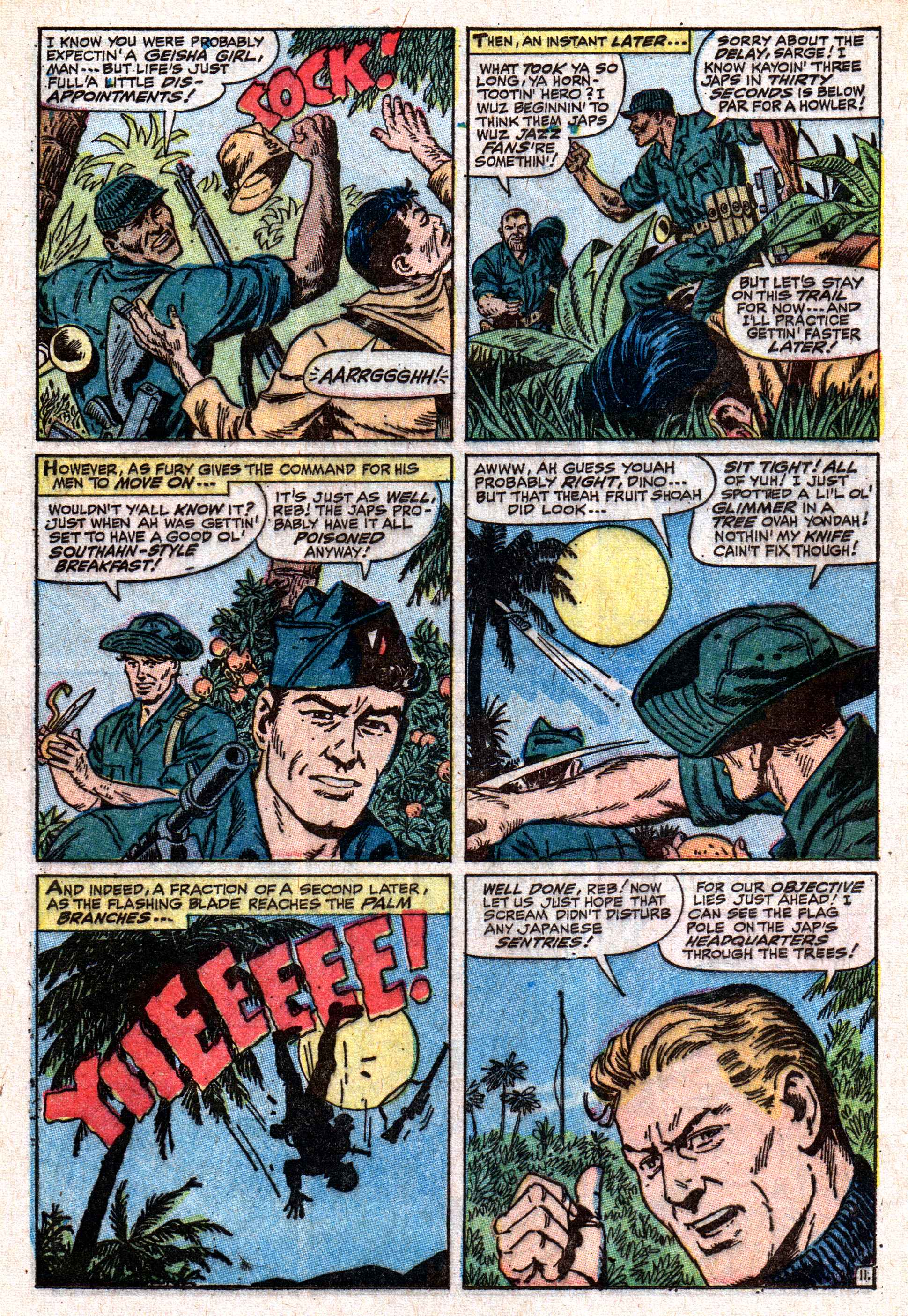 Read online Sgt. Fury comic -  Issue #50 - 16