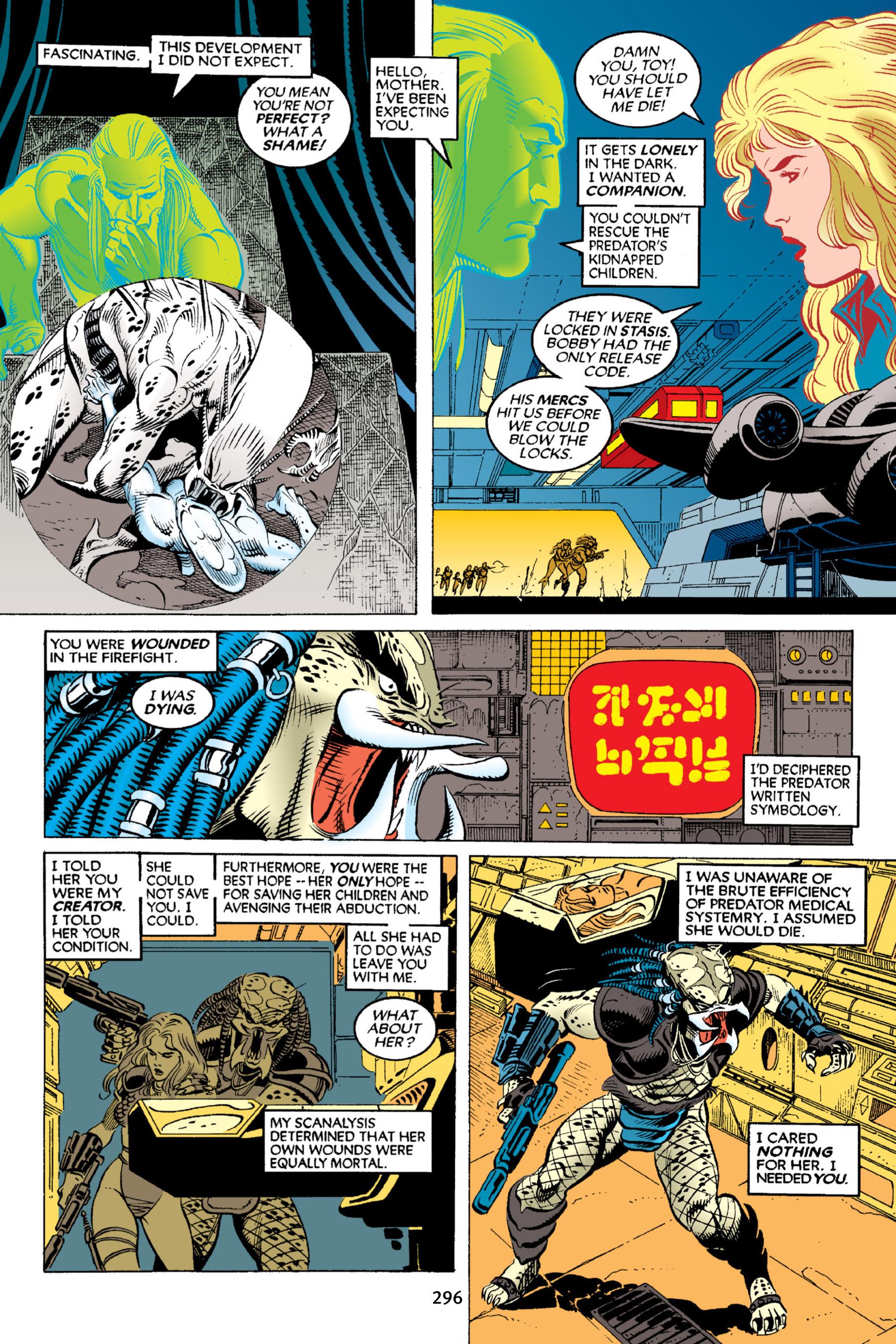 Read online Aliens vs. Predator Omnibus comic -  Issue # _TPB 2 Part 3 - 71