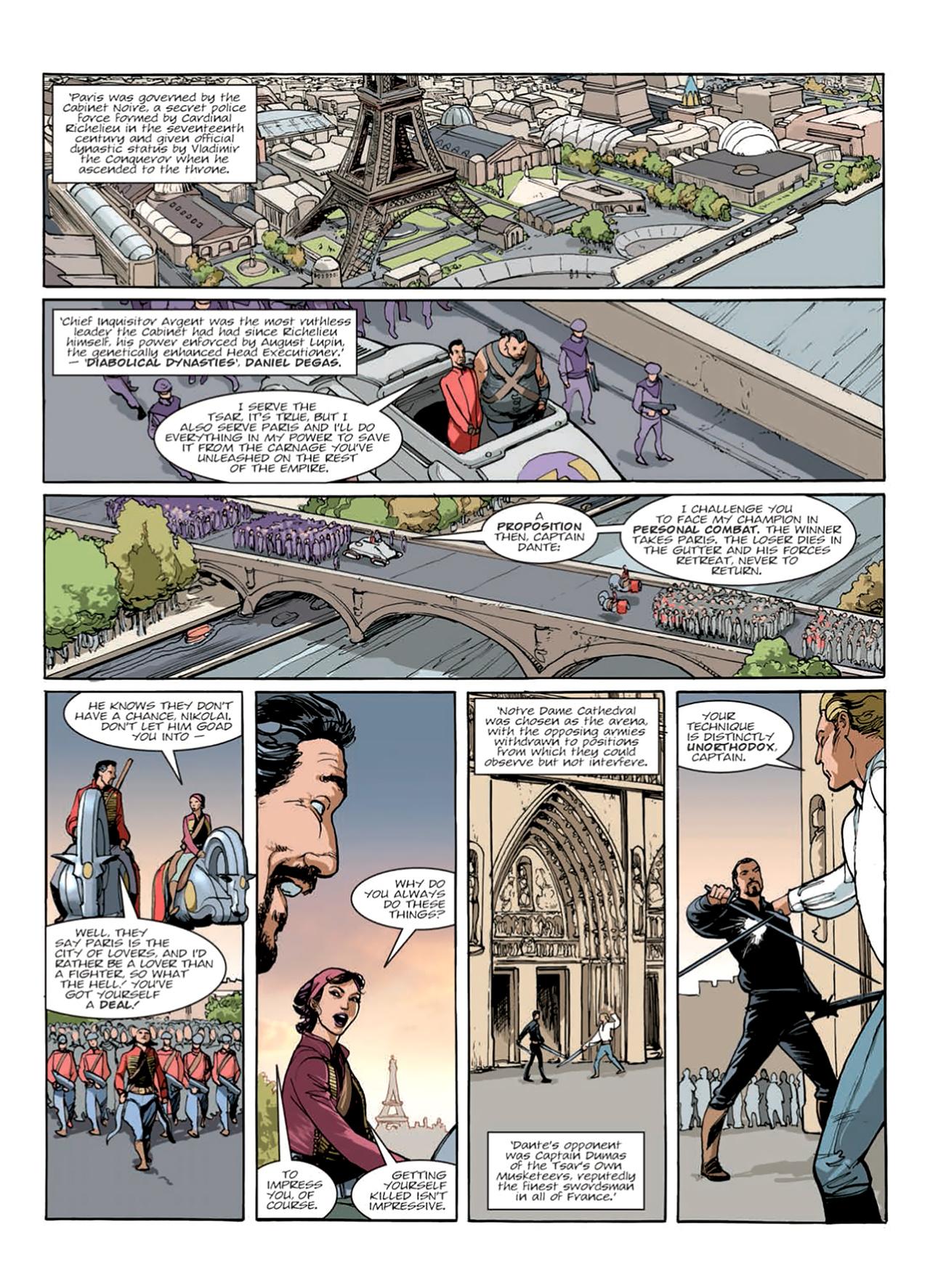 Read online Nikolai Dante comic -  Issue # TPB 9 - 137