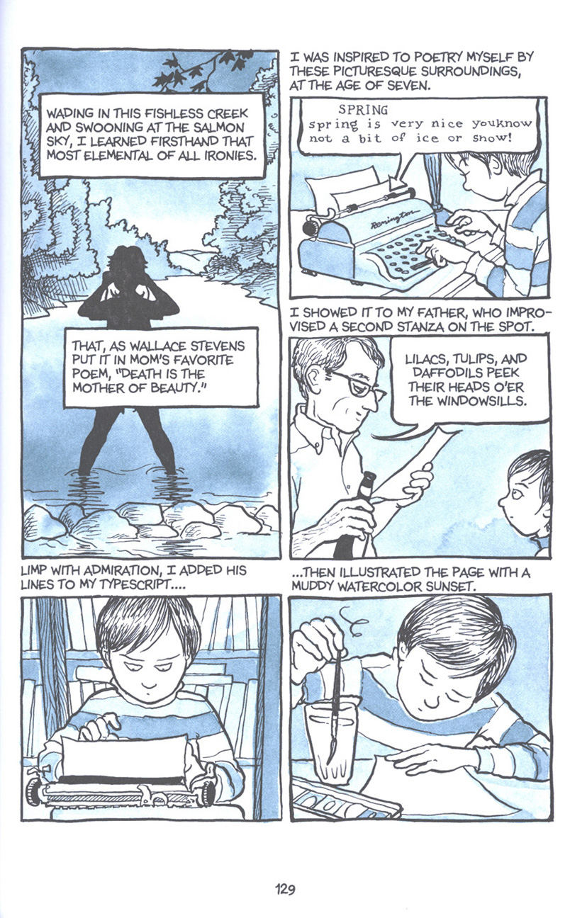 Read online Fun Home: A Family Tragicomic comic -  Issue # TPB - 135