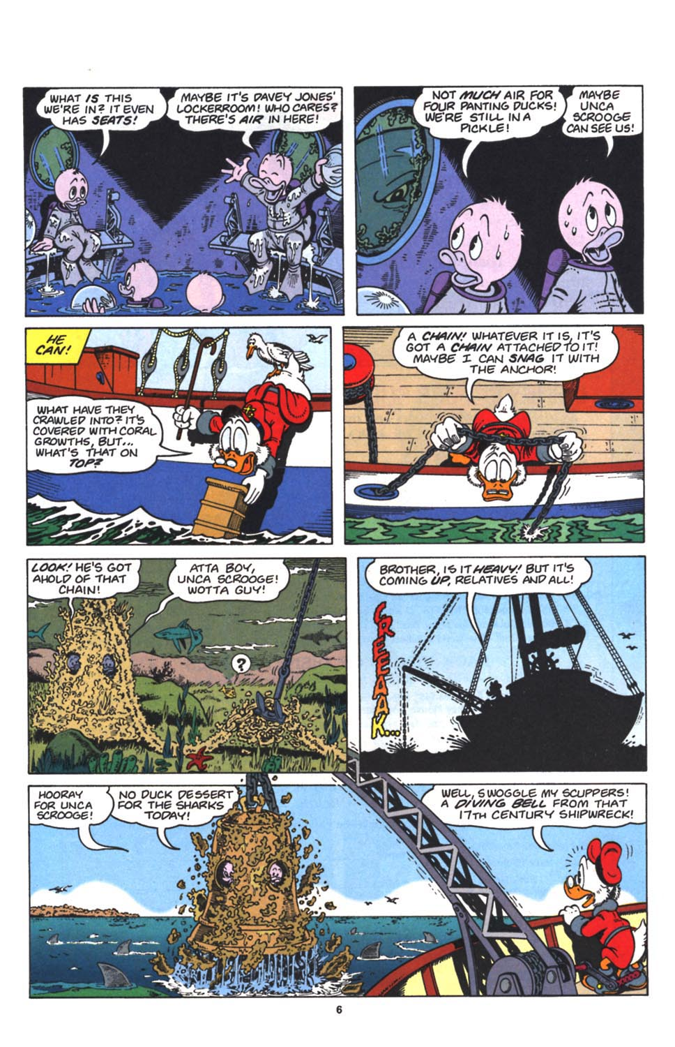 Read online Uncle Scrooge (1953) comic -  Issue #263 - 7