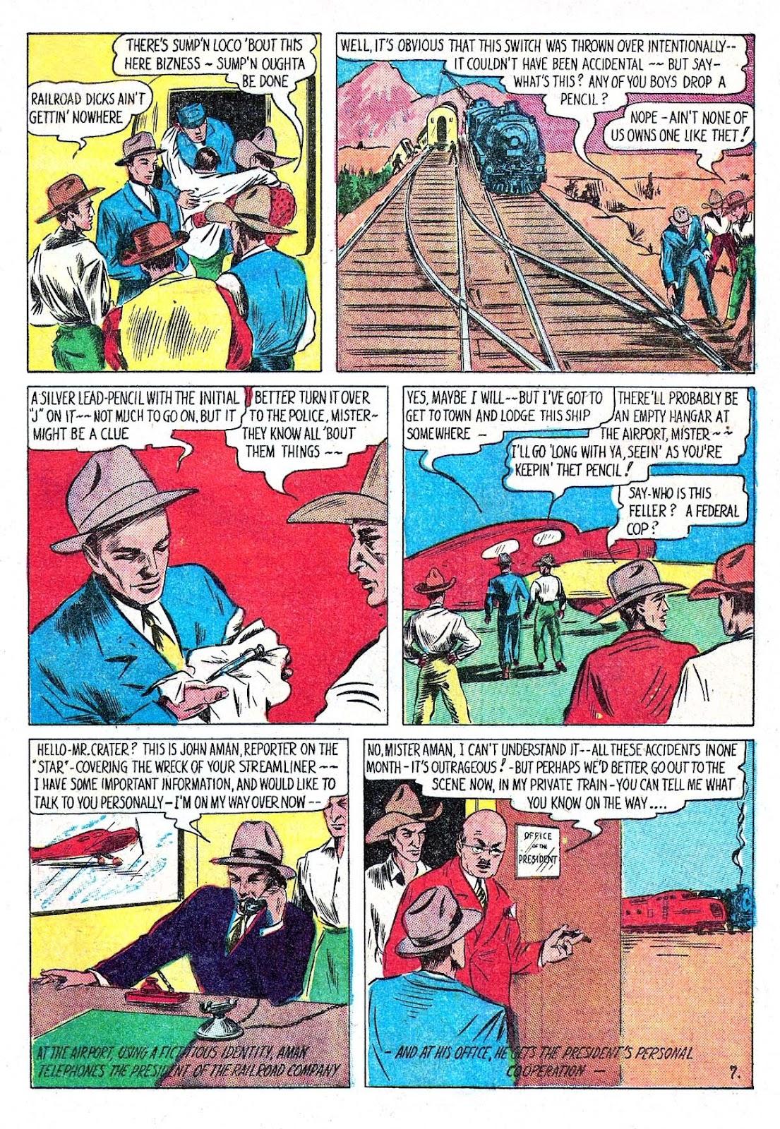 Amazing Man Comics issue 5 - Page 9