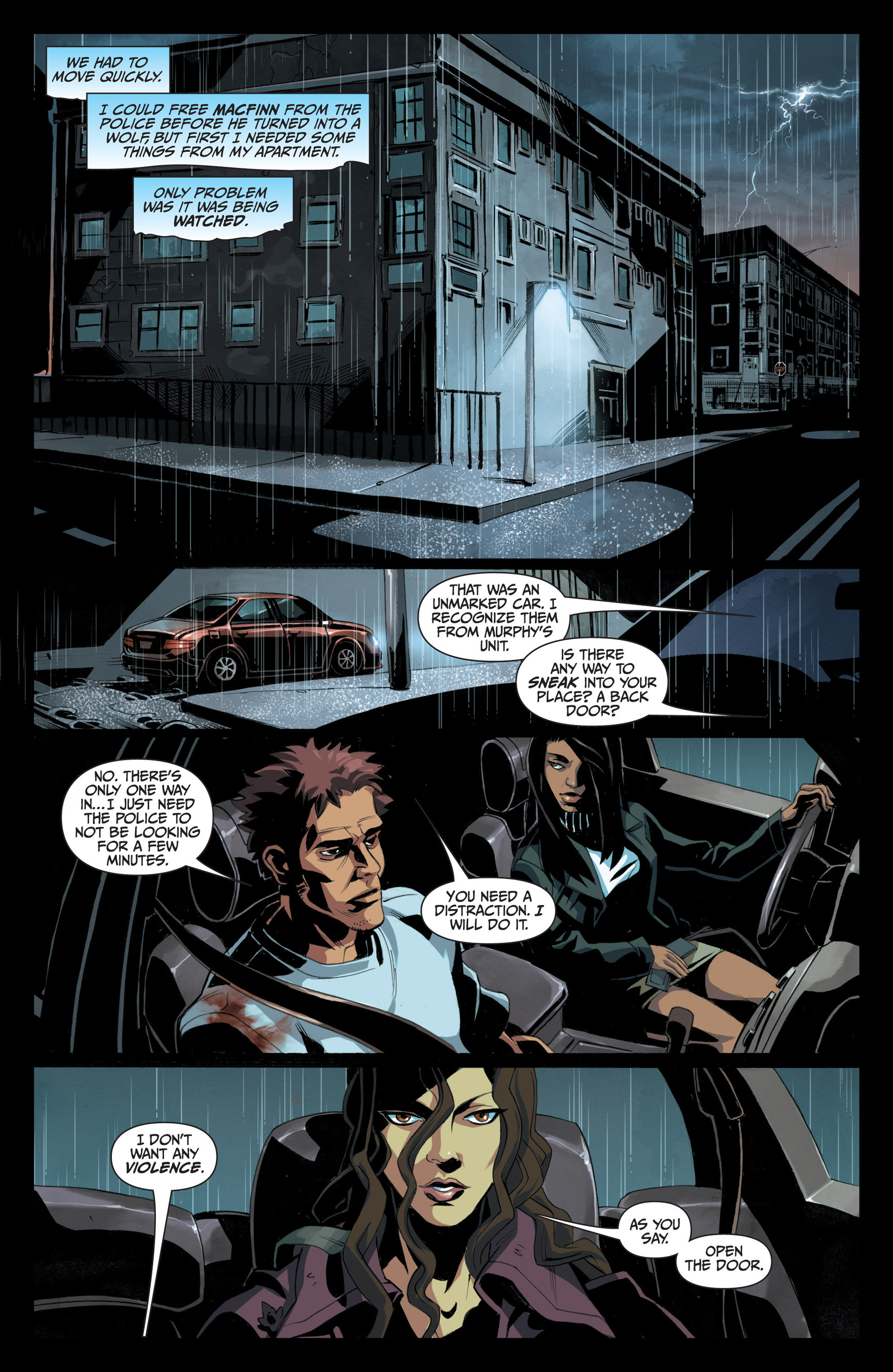 Read online Jim Butcher's The Dresden Files: Fool Moon comic -  Issue #5 - 3