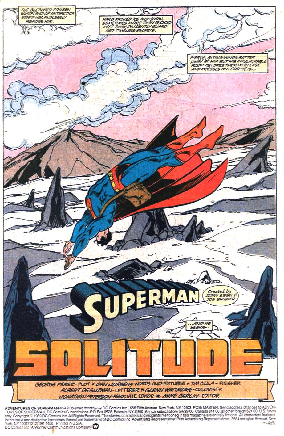 Read online Adventures of Superman (1987) comic -  Issue #459 - 2