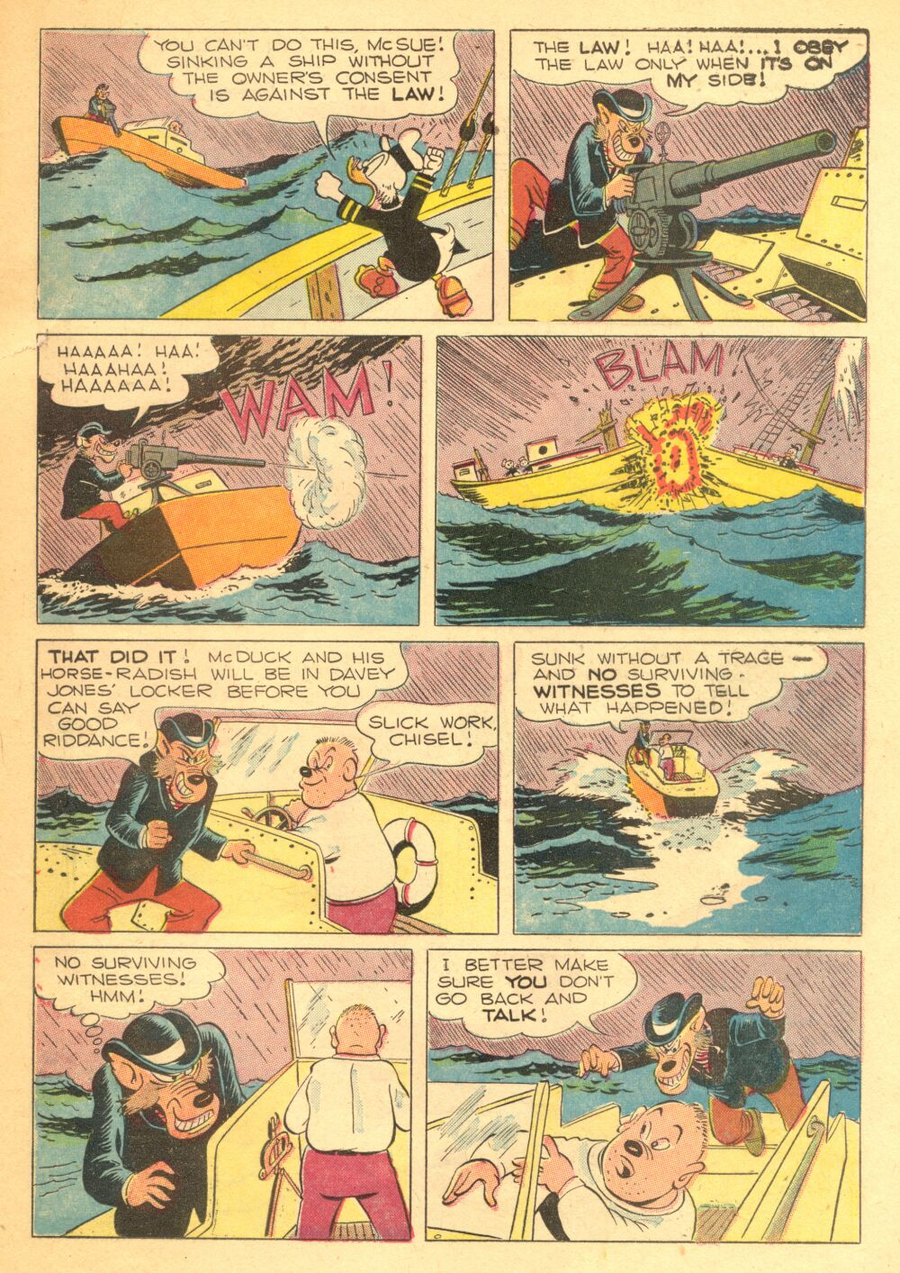 Read online Uncle Scrooge (1953) comic -  Issue #3 - 19