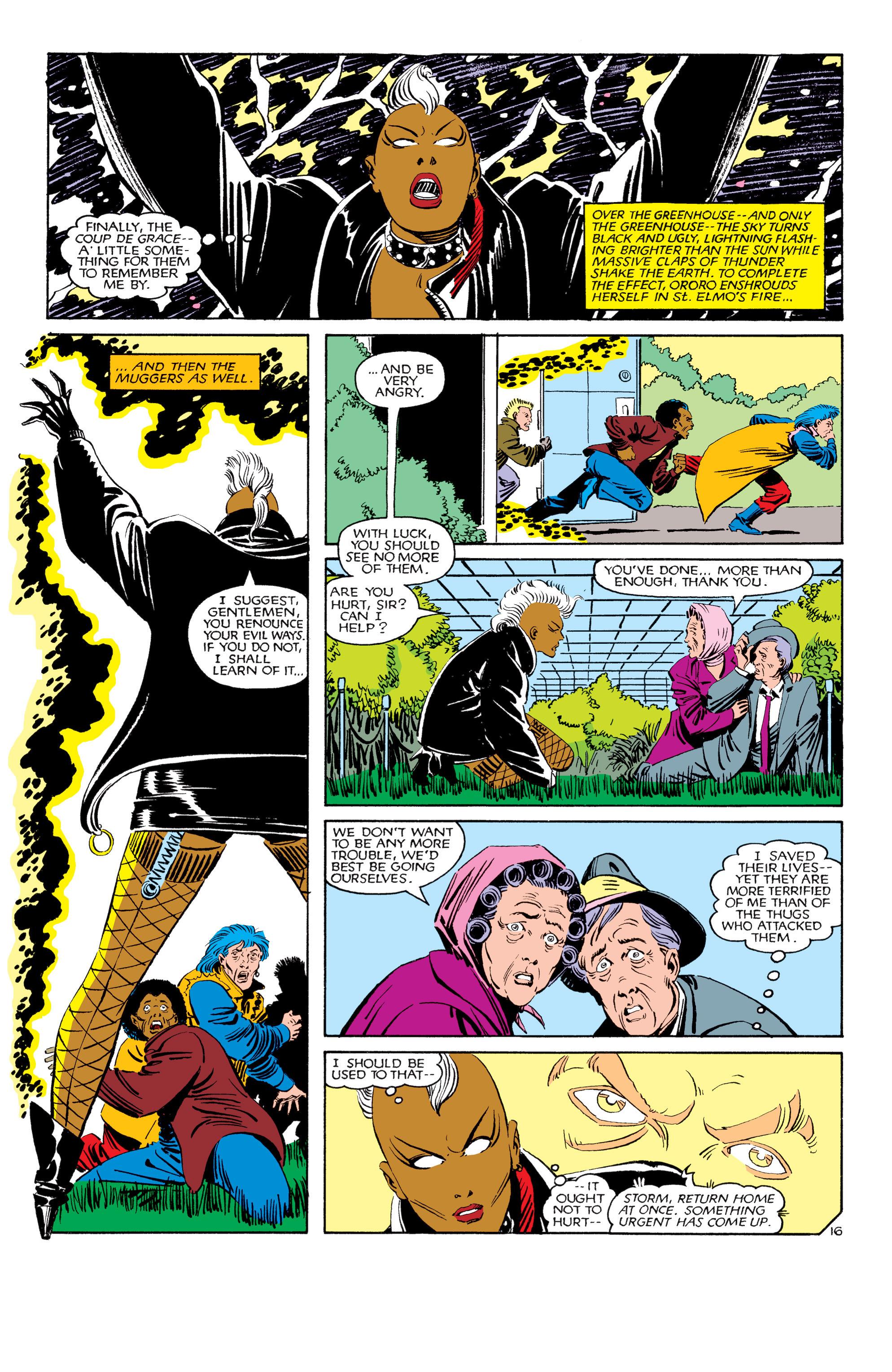 Read online Uncanny X-Men (1963) comic -  Issue #180 - 17