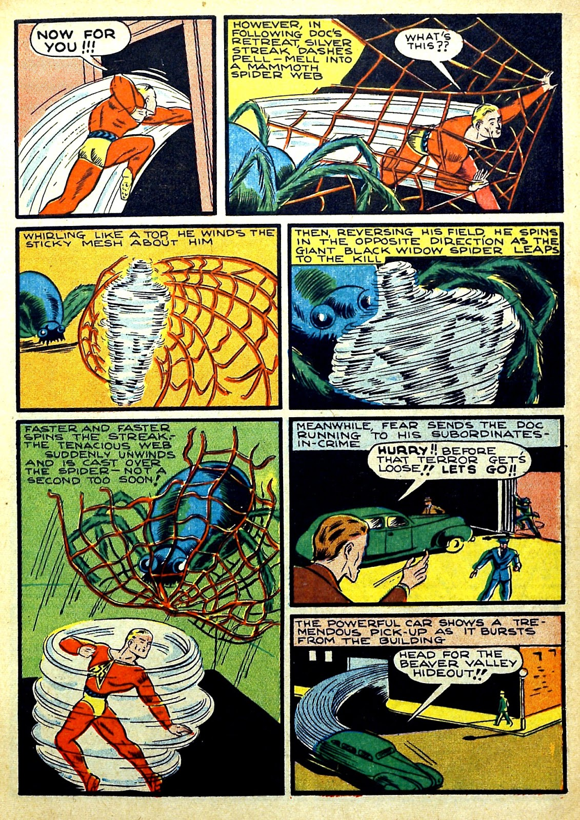 Read online Silver Streak Comics comic -  Issue #22 - 9