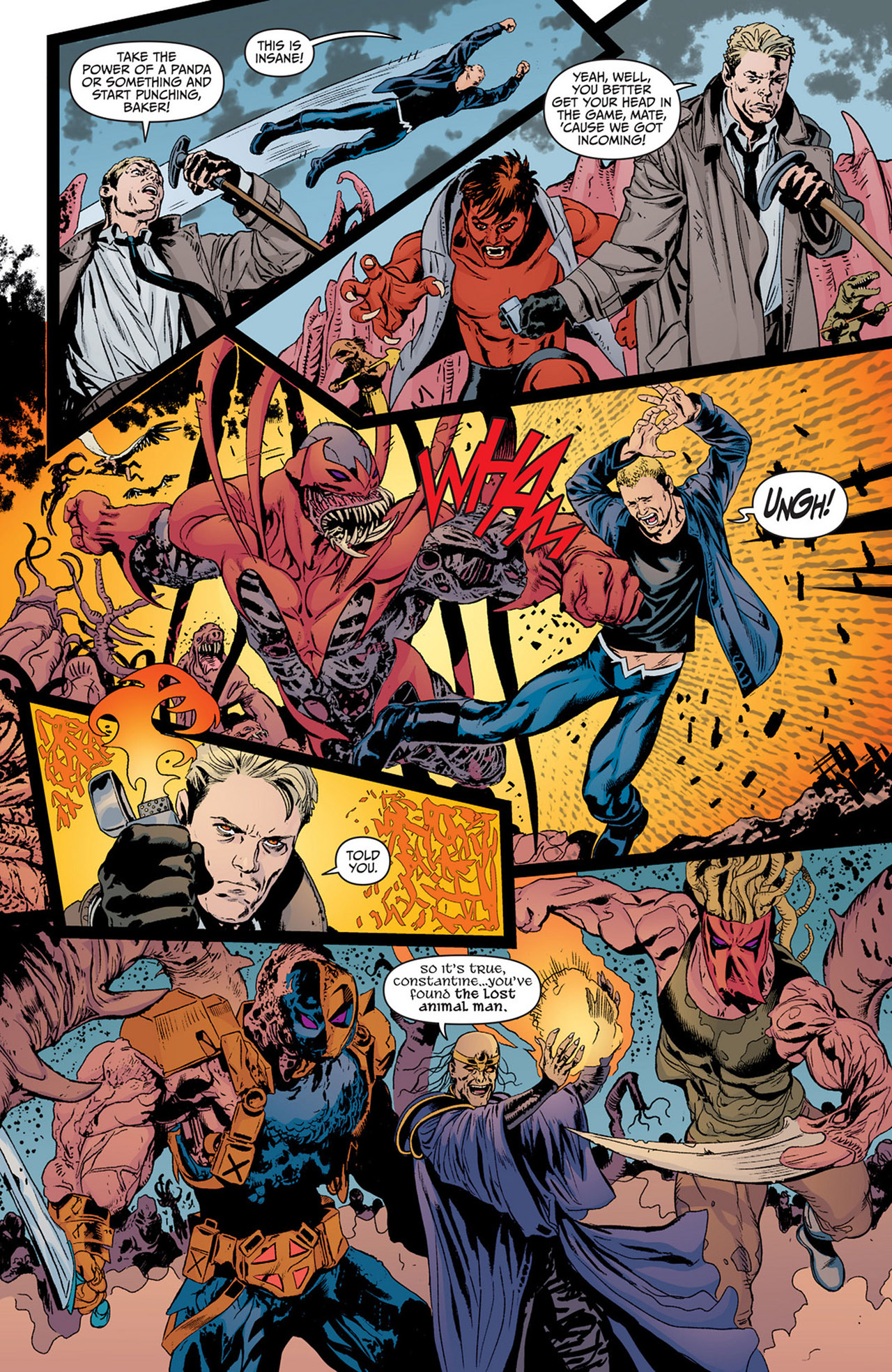 Read online Animal Man (2011) comic -  Issue #14 - 6