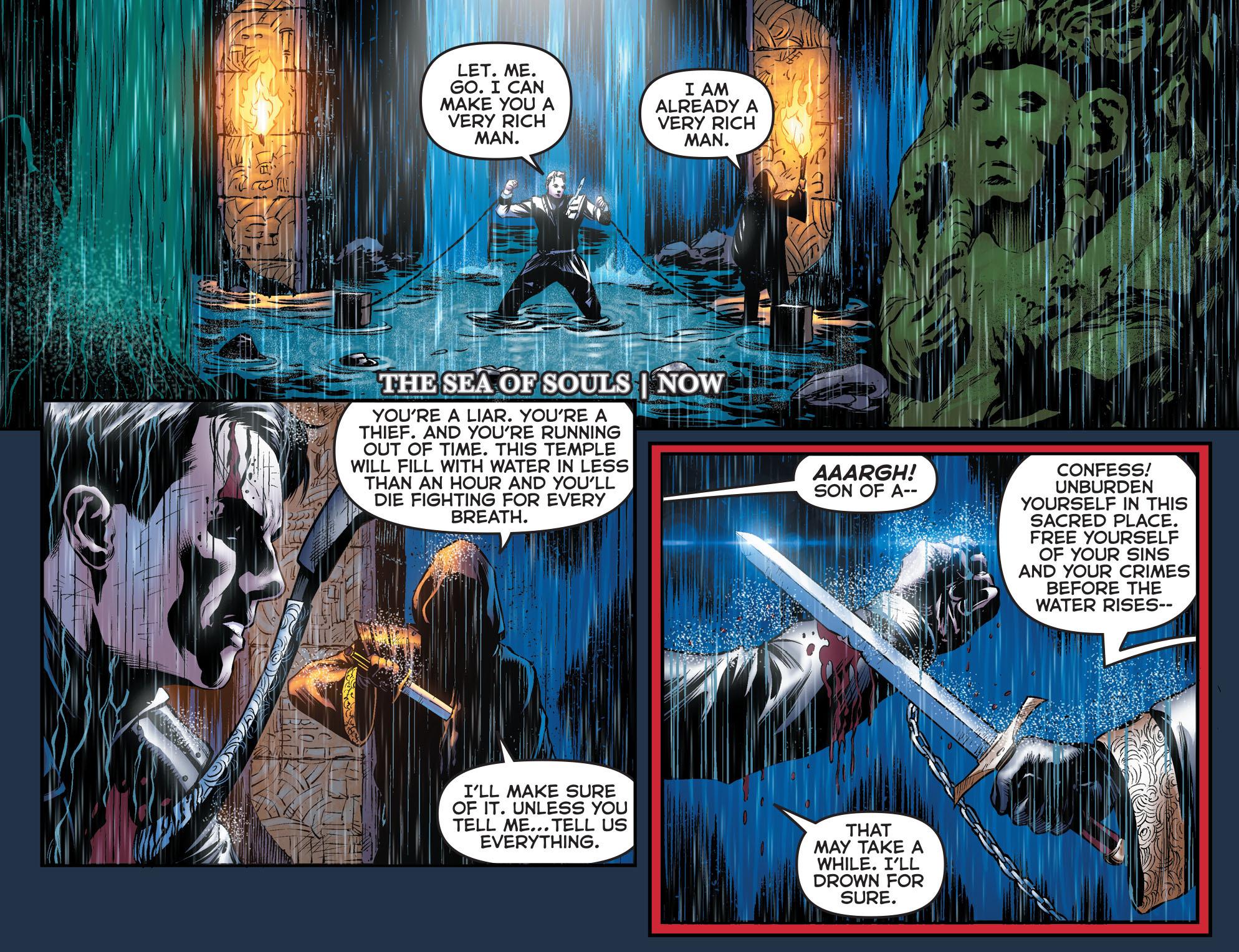 Read online Arrow: The Dark Archer comic -  Issue #2 - 3