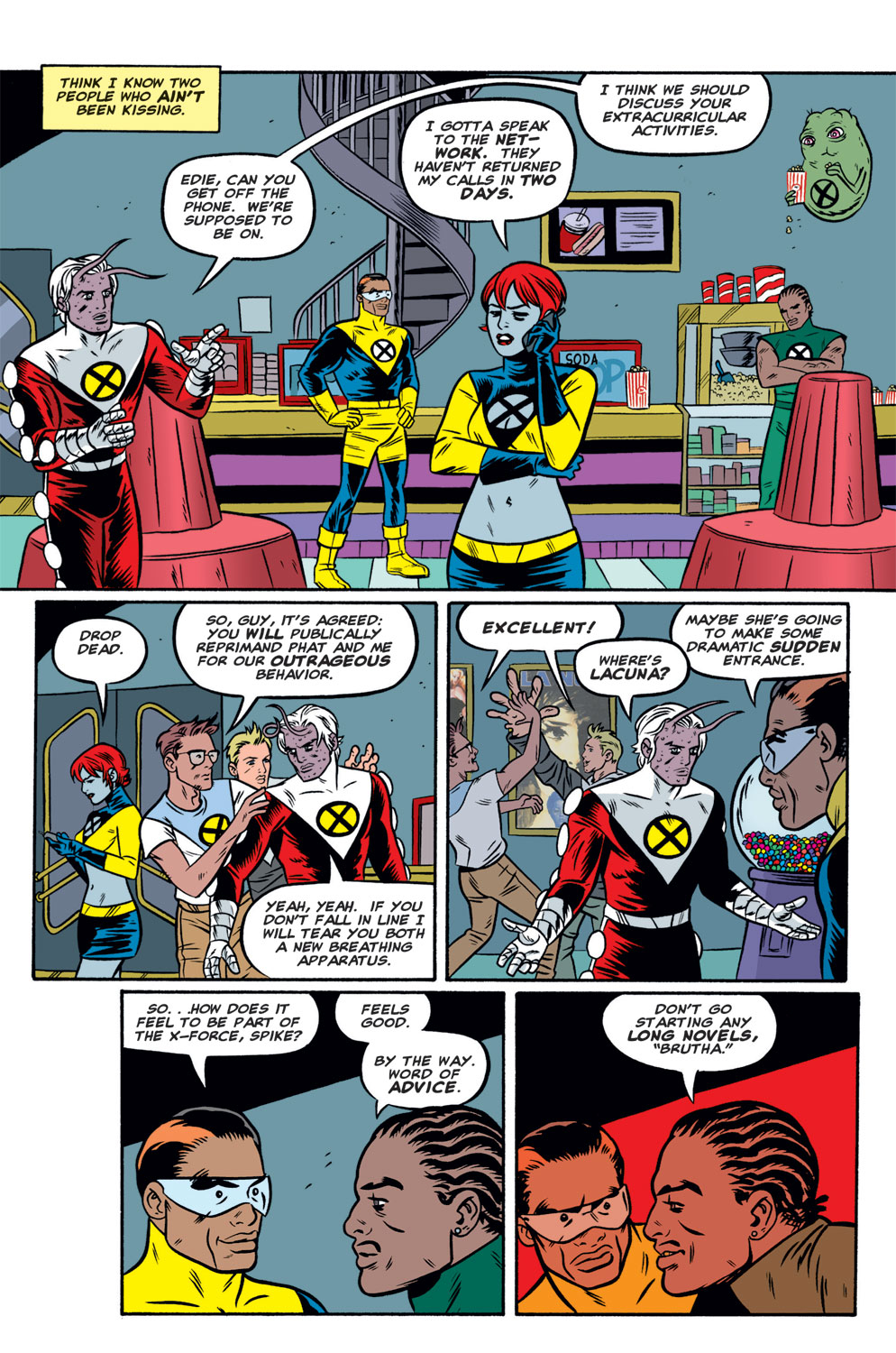 Read online X-Force (1991) comic -  Issue #122 - 20