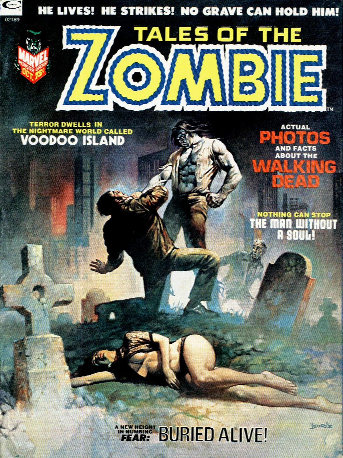 Zombie (1973) issue 2 - Page 1