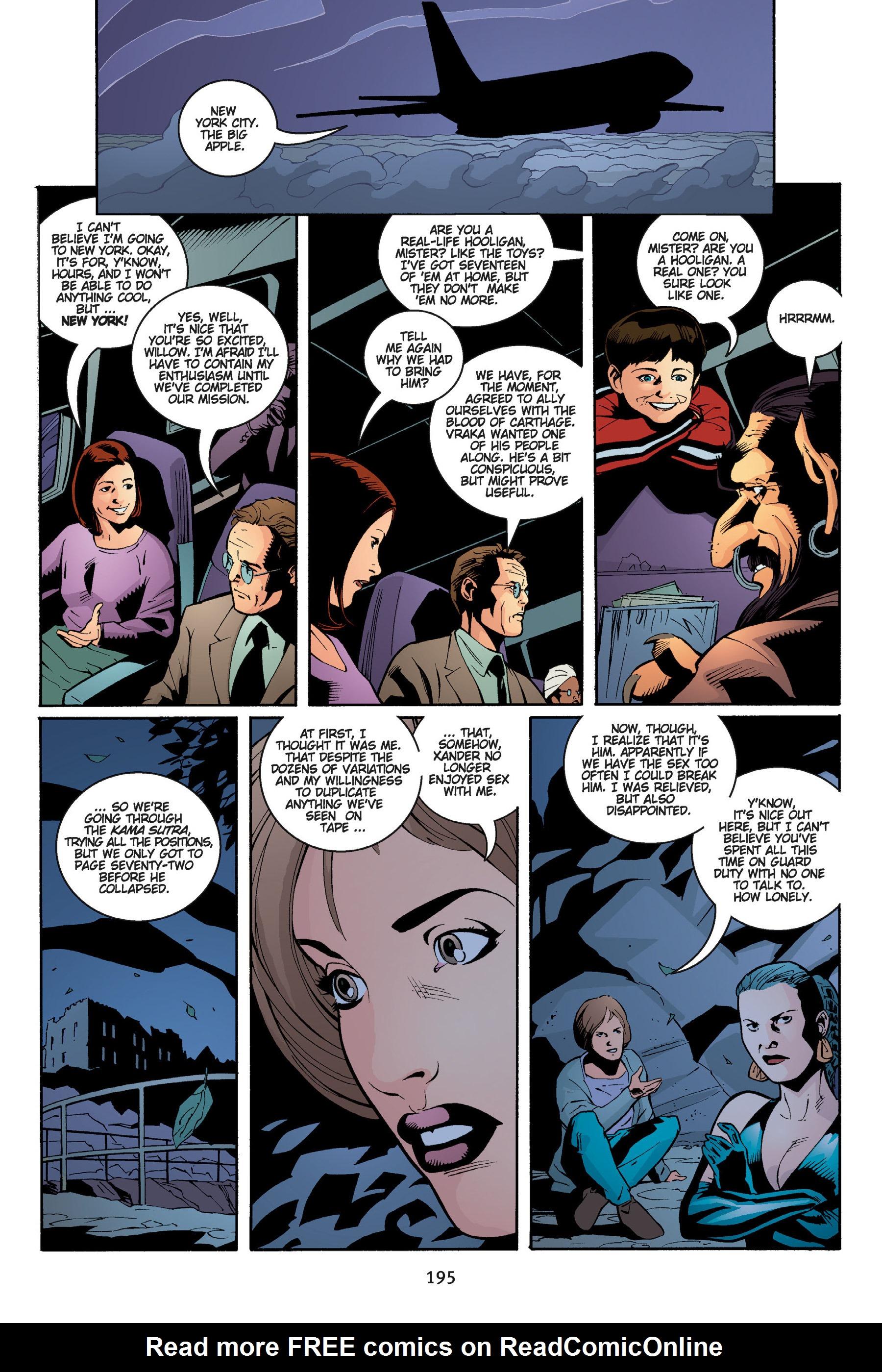 Read online Buffy the Vampire Slayer: Omnibus comic -  Issue # TPB 5 - 195