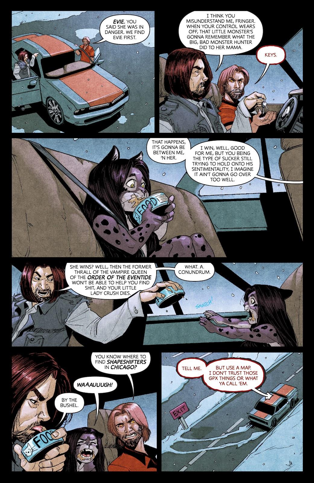 Read online Dark Red comic -  Issue #7 - 8