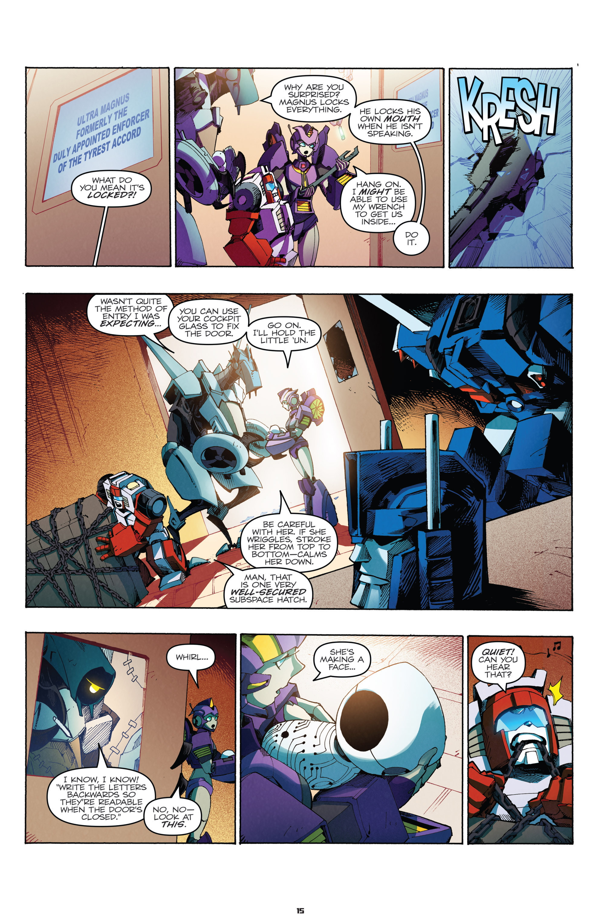 Read online Transformers: Holiday Special comic -  Issue # Full - 17