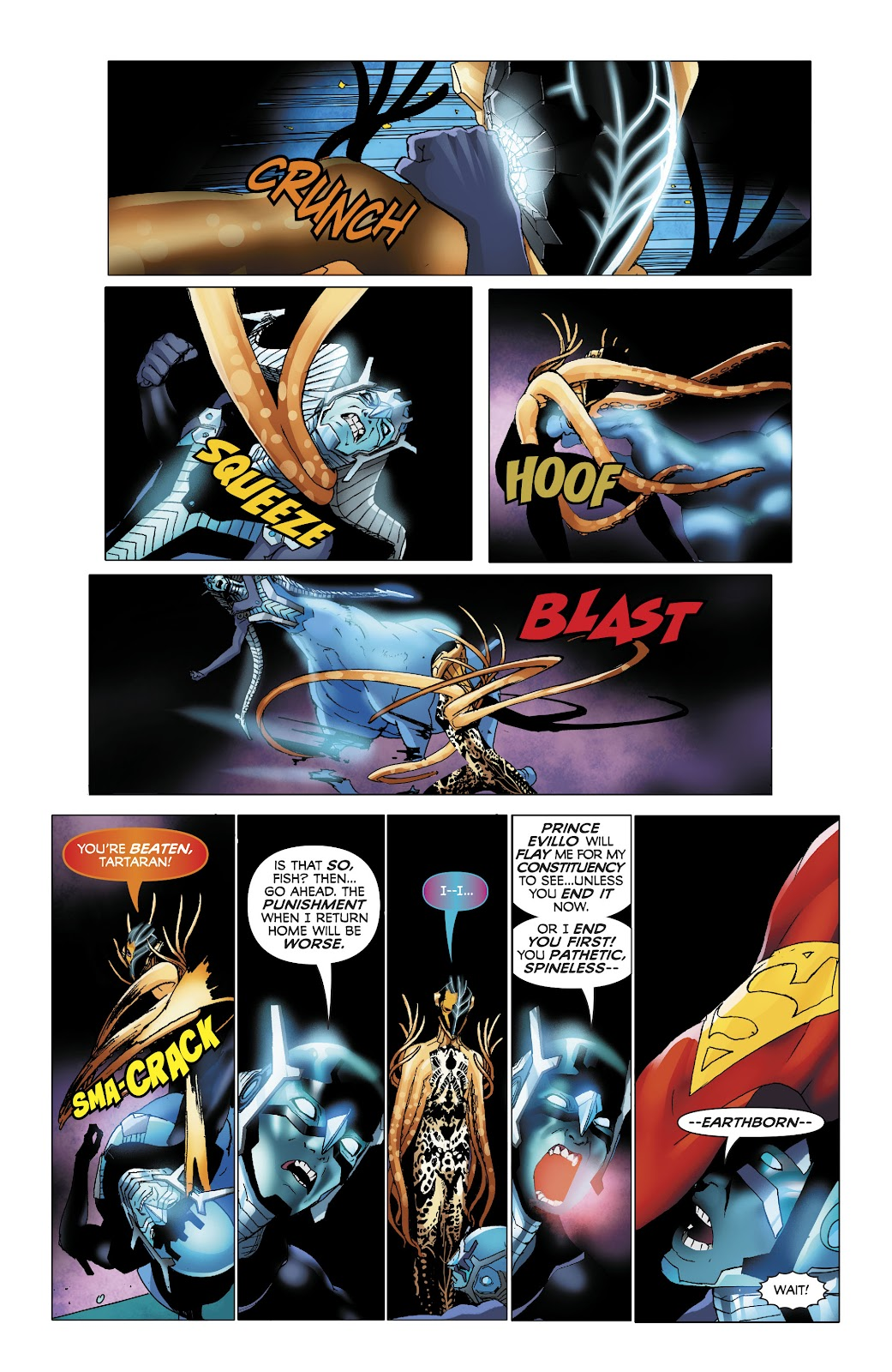 Read online Electric Warriors comic -  Issue #4 - 12