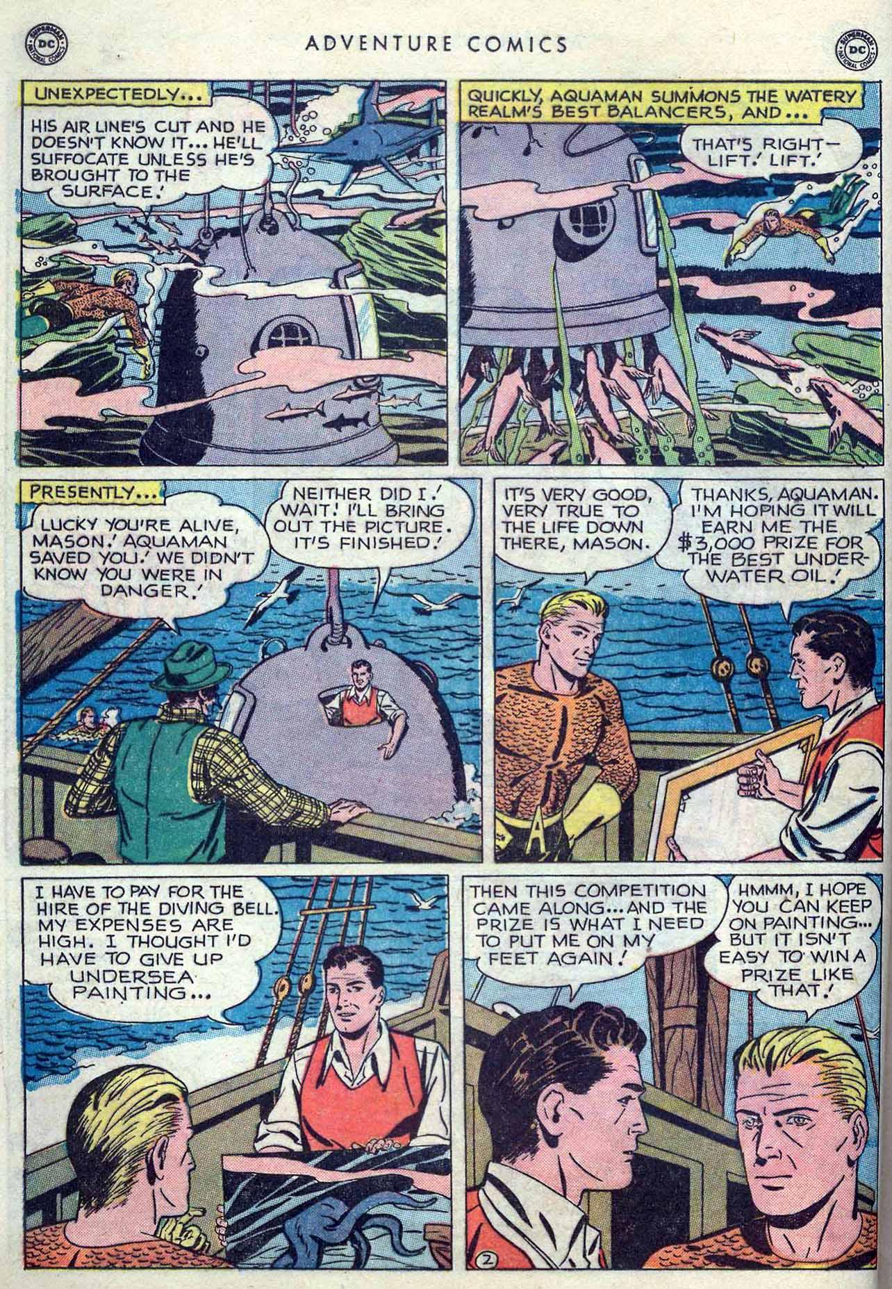 Read online Adventure Comics (1938) comic -  Issue #149 - 16