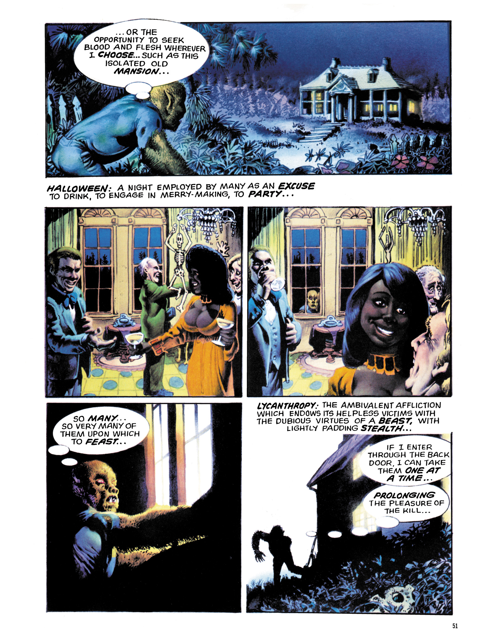 Read online Eerie Archives comic -  Issue # TPB 18 - 52