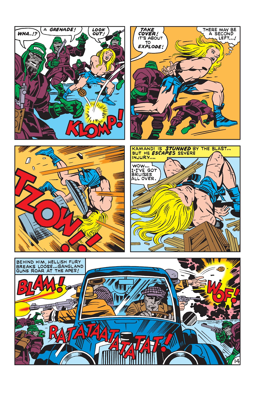 Kamandi, The Last Boy On Earth issue 19 - Page 14