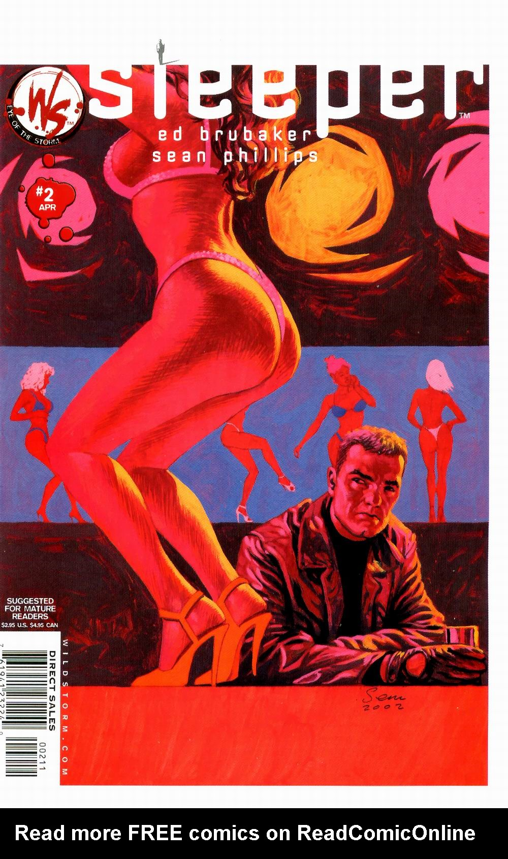 Read online Sleeper comic -  Issue #2 - 4
