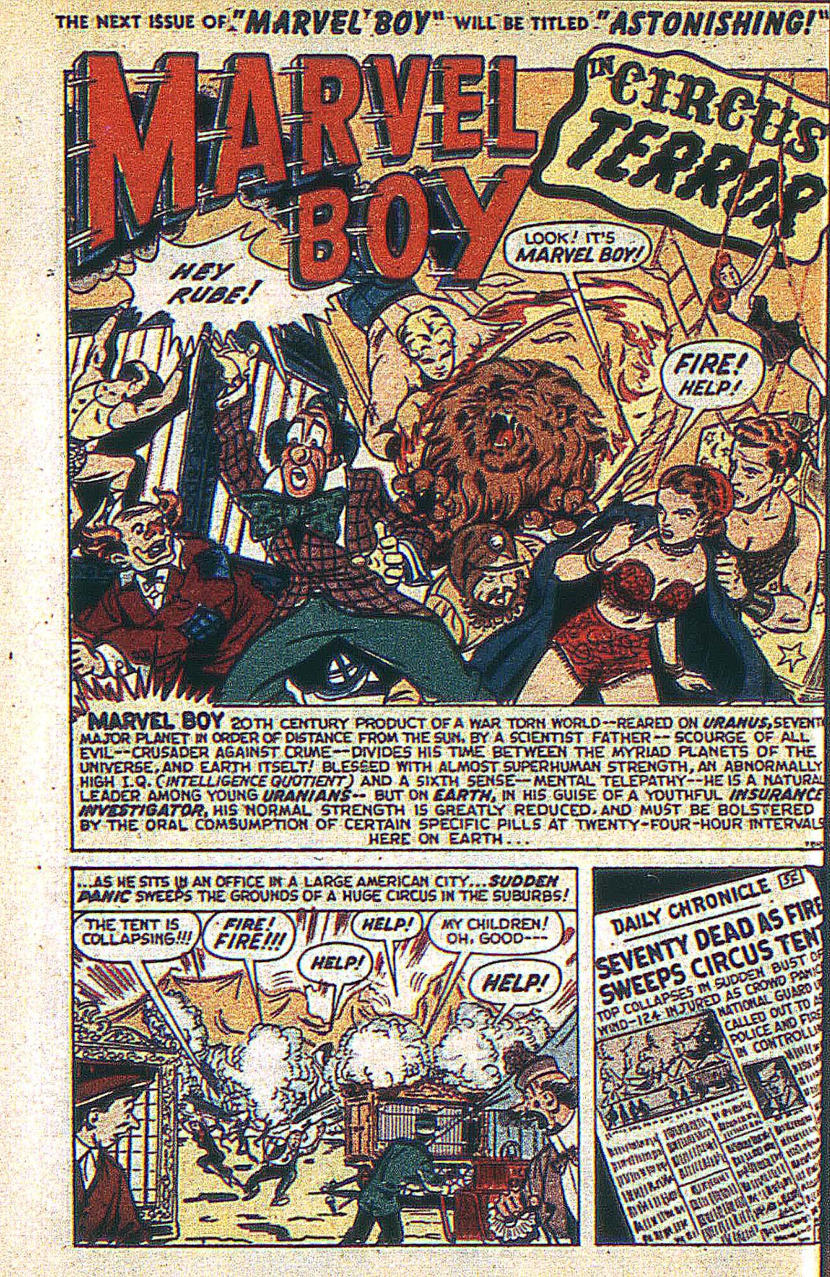 Read online Marvel Boy (1950) comic -  Issue #2 - 27