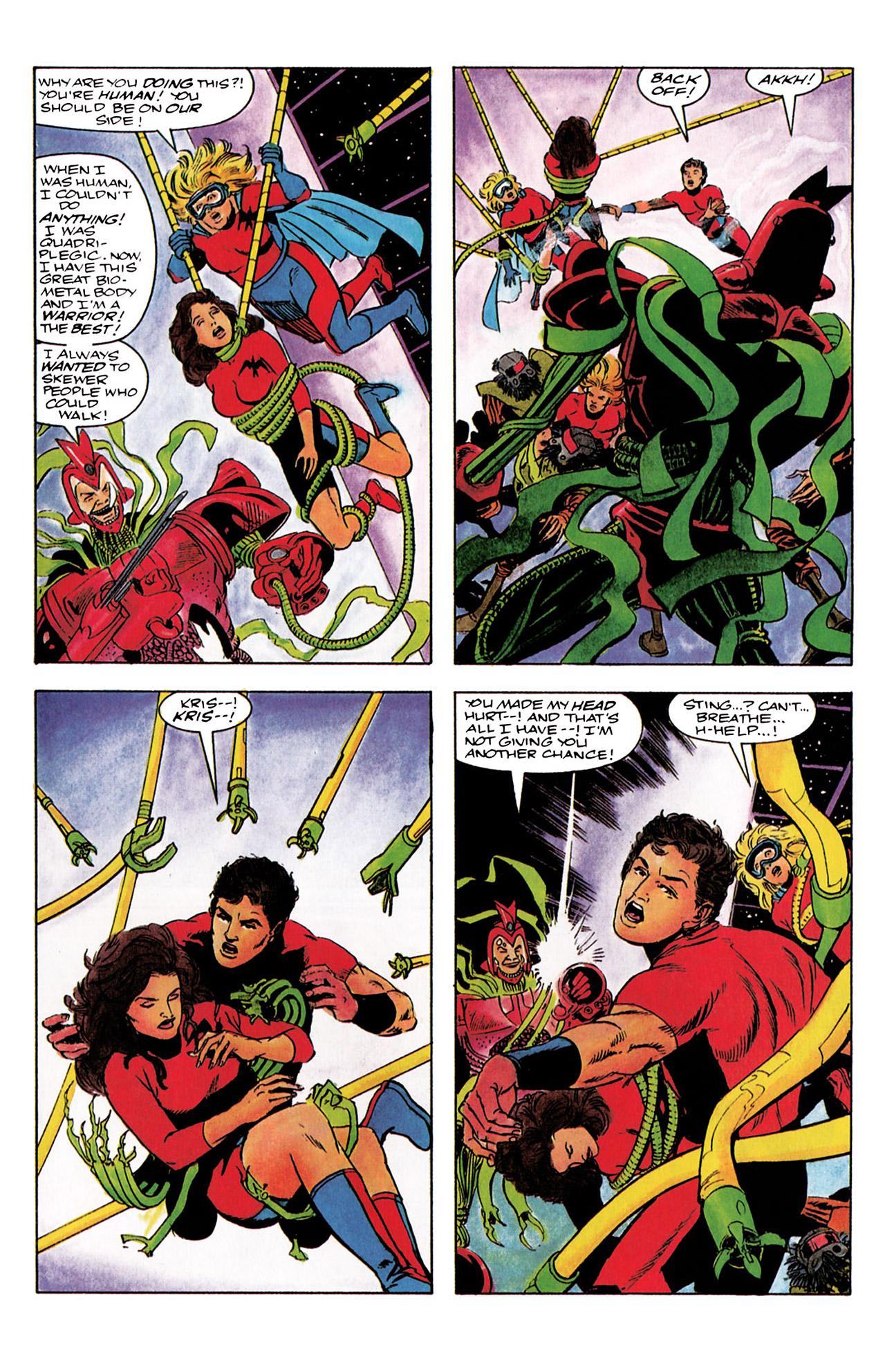 Read online Harbinger (1992) comic -  Issue #3 - 22