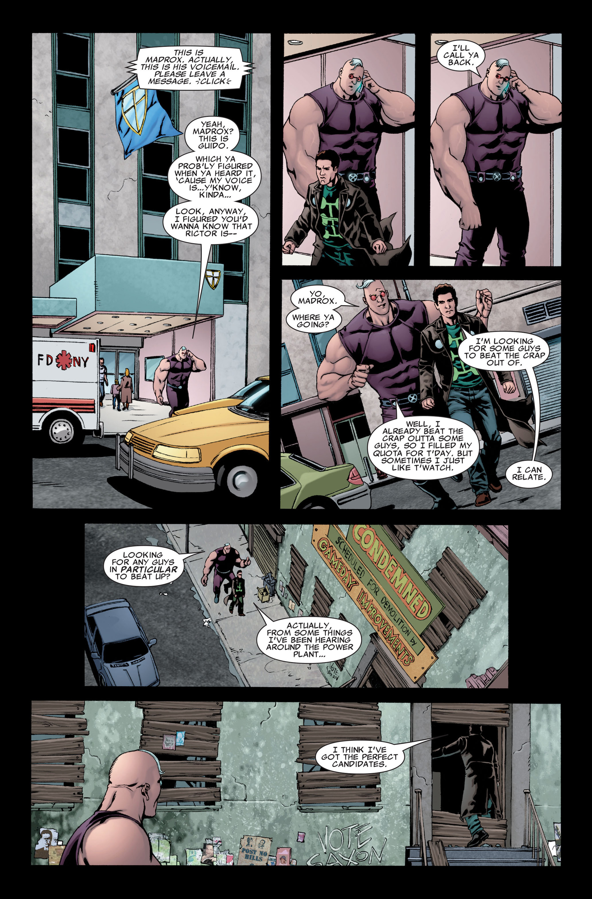 Read online X-Factor (2006) comic -  Issue #28 - 16