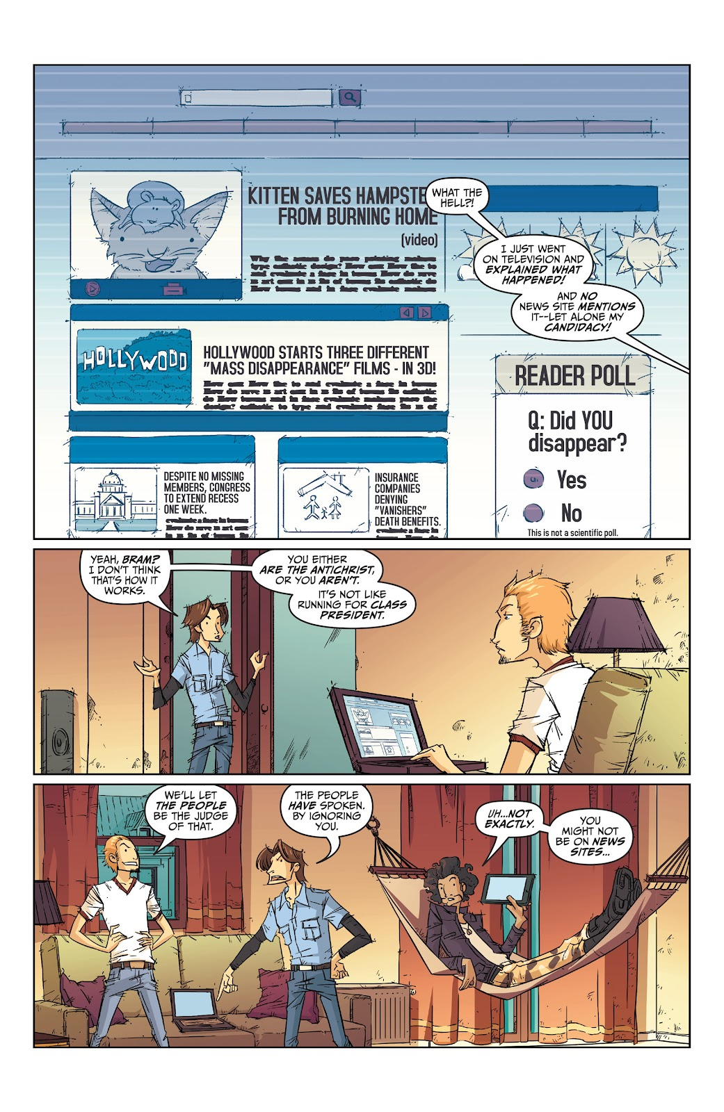 Read online The End Times of Bram and Ben comic -  Issue #2 - 3