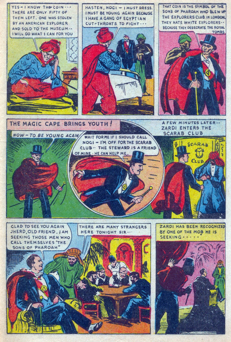 Read online Amazing Man Comics comic -  Issue #15 - 60