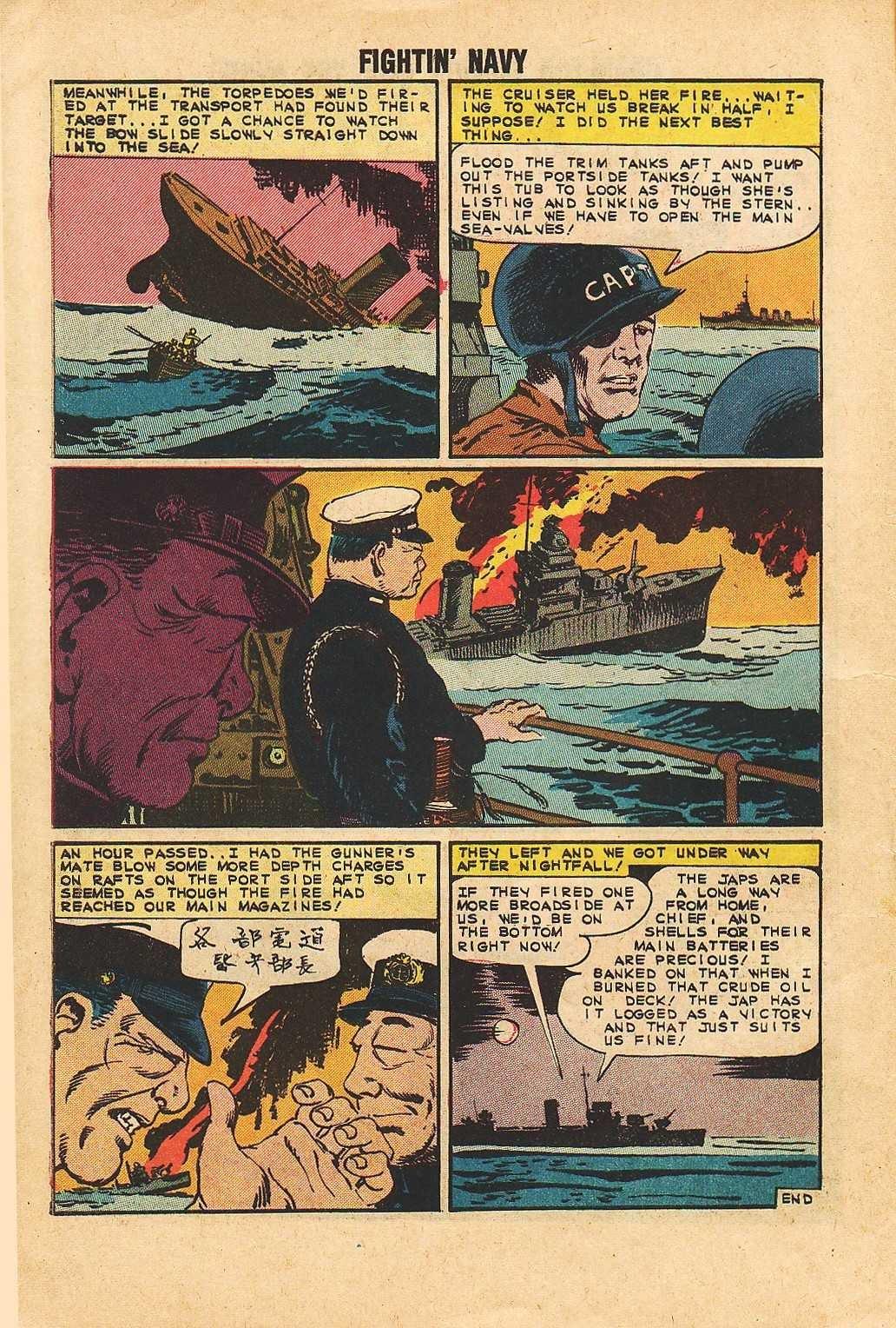 Read online Fightin' Navy comic -  Issue #113 - 10