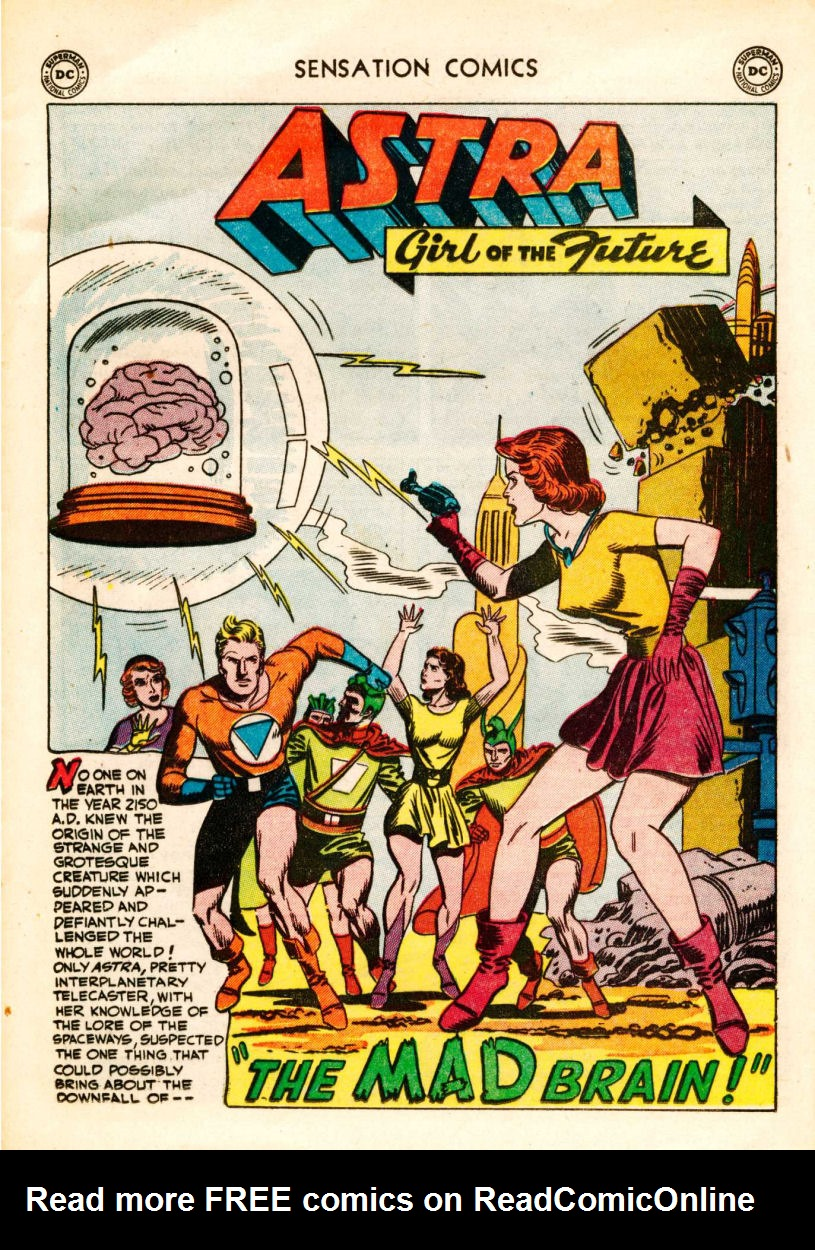 Read online Sensation (Mystery) Comics comic -  Issue #106 - 25