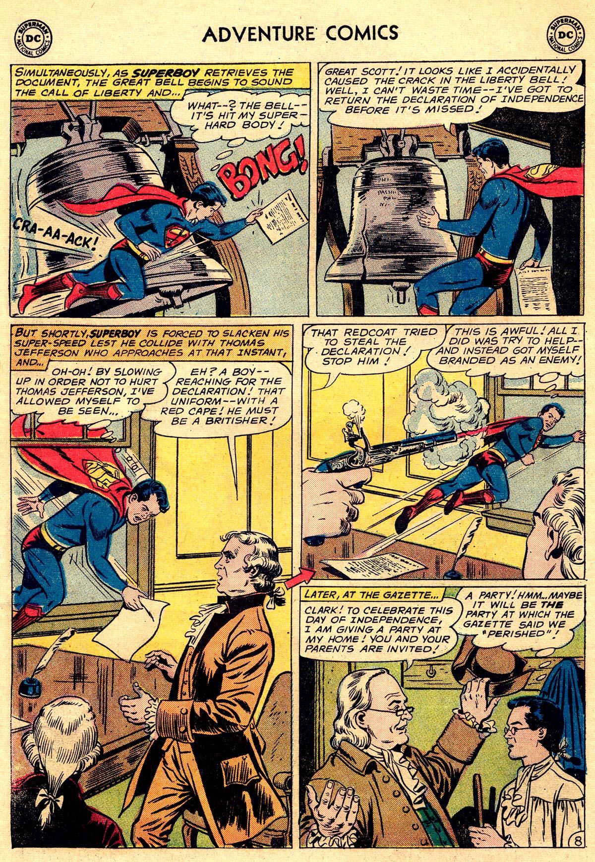 Read online Adventure Comics (1938) comic -  Issue #296 - 10