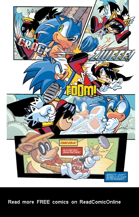Read online Sonic Comics Spectacular: Speed of Sound comic -  Issue # Full - 49